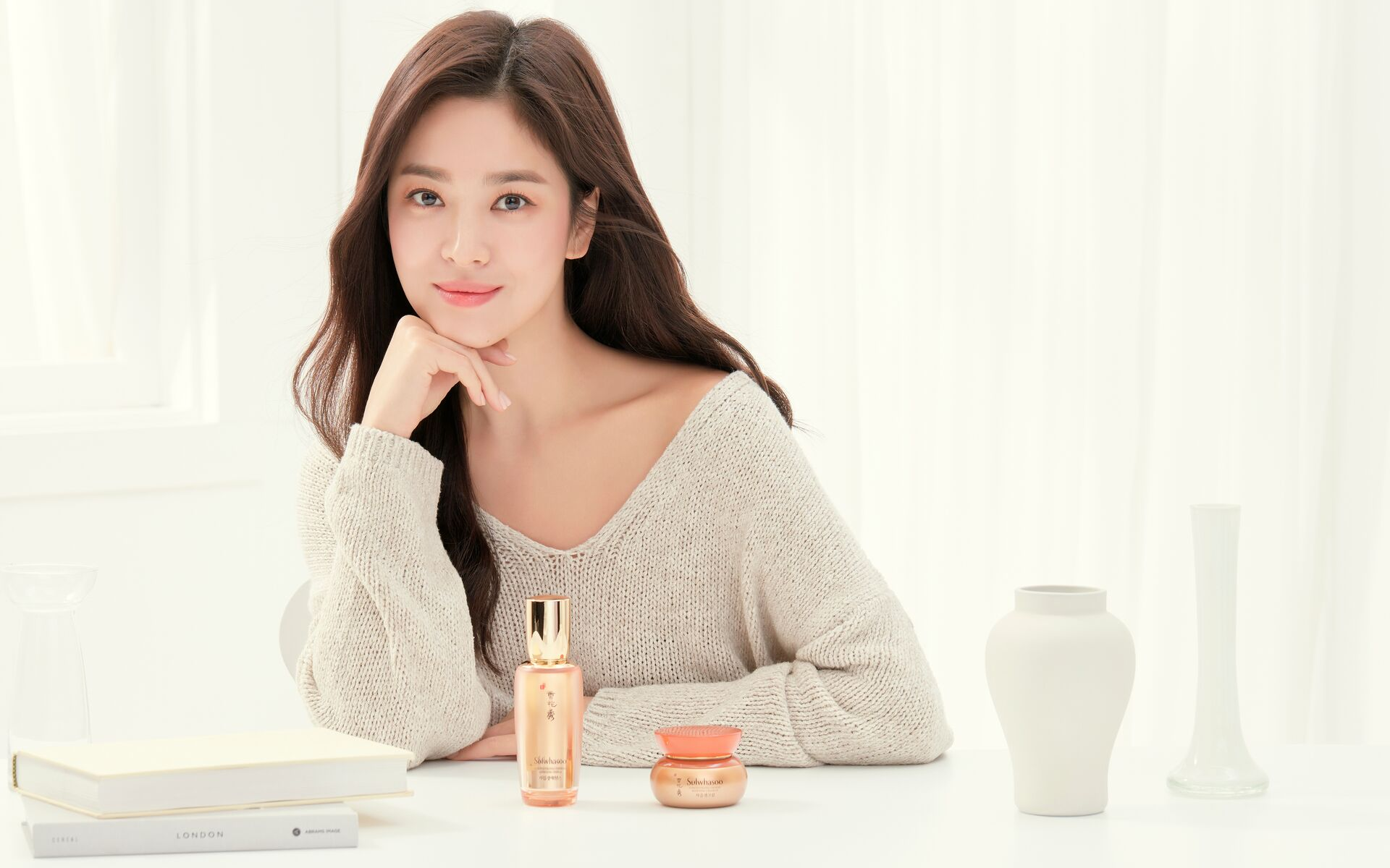 Song Hye Kyo for Sulwhasoo. Photo: Courtesy of Sulwhasoo