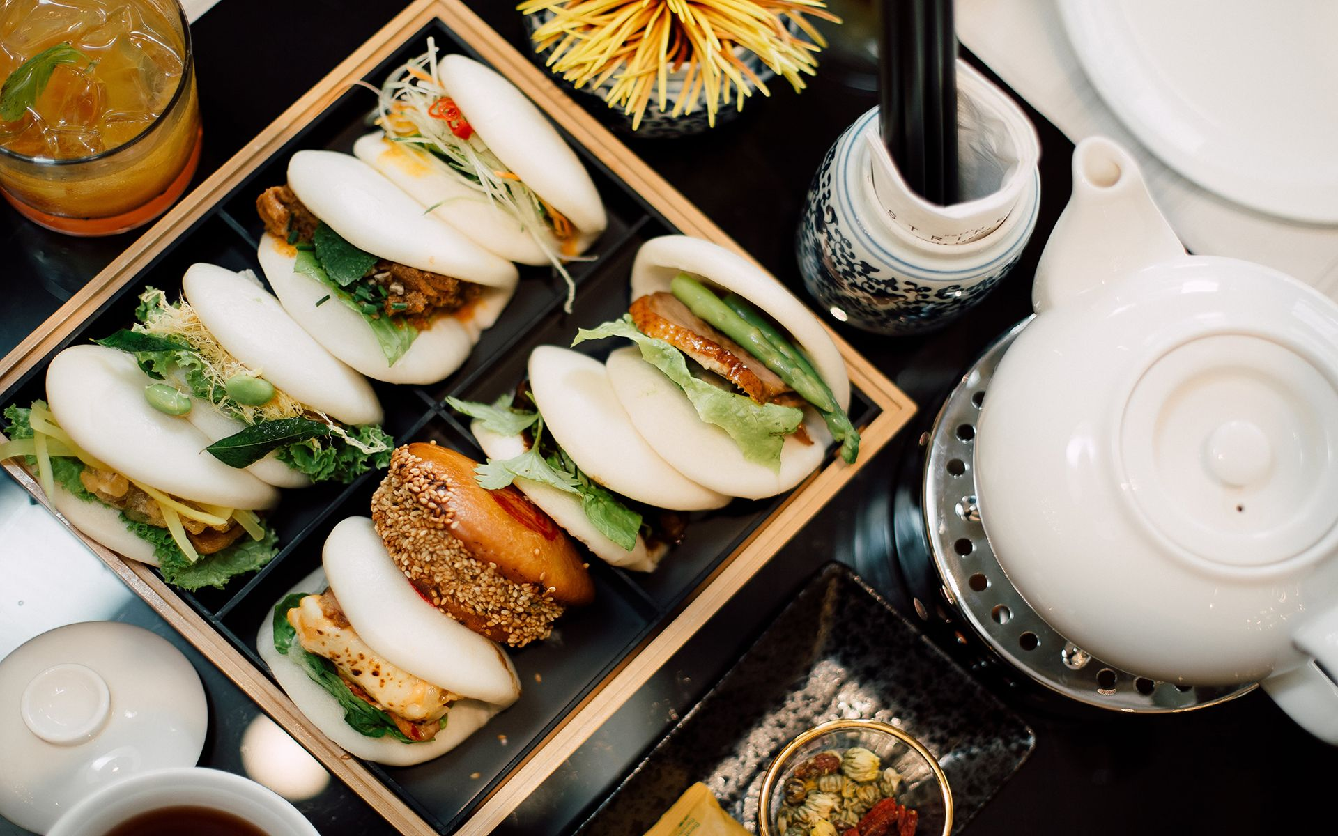 Brasserie 25 At Hotel Stripes Introduces A 'Bao-Tea-Ful' Afternoon Tea