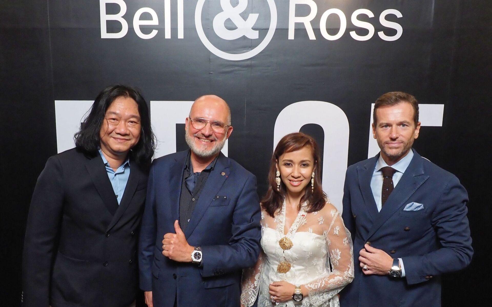 Tong Chee Wei, Carlos Rosillo, Tengku Datin Paduka Setia Zatashah and Dato' Setia Aubry Rahim Mennesson