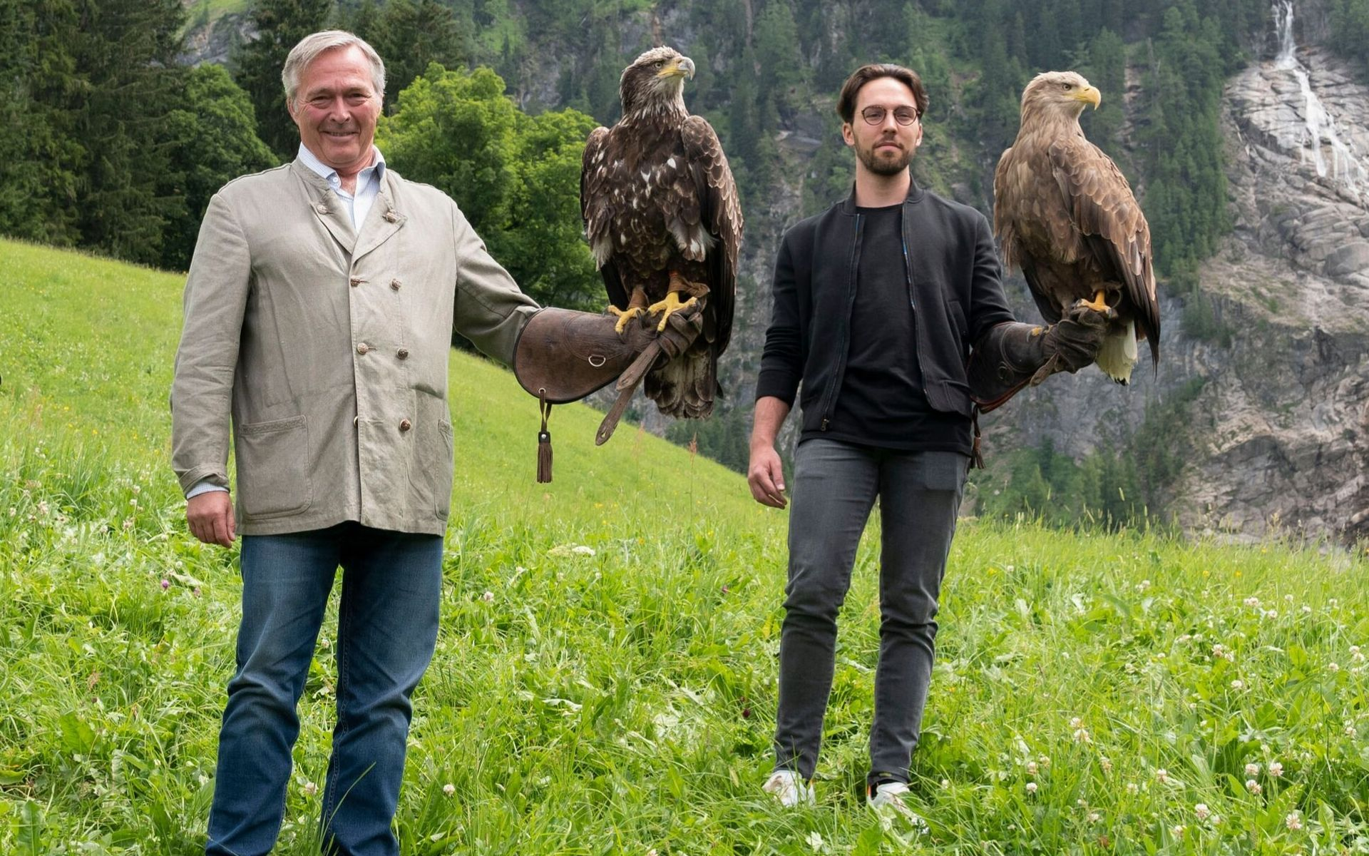 Chopard's Father-And-Son Team Karl-Friedrich and Karl-Fritz Scheufele On The New Alpine Eagle Watch