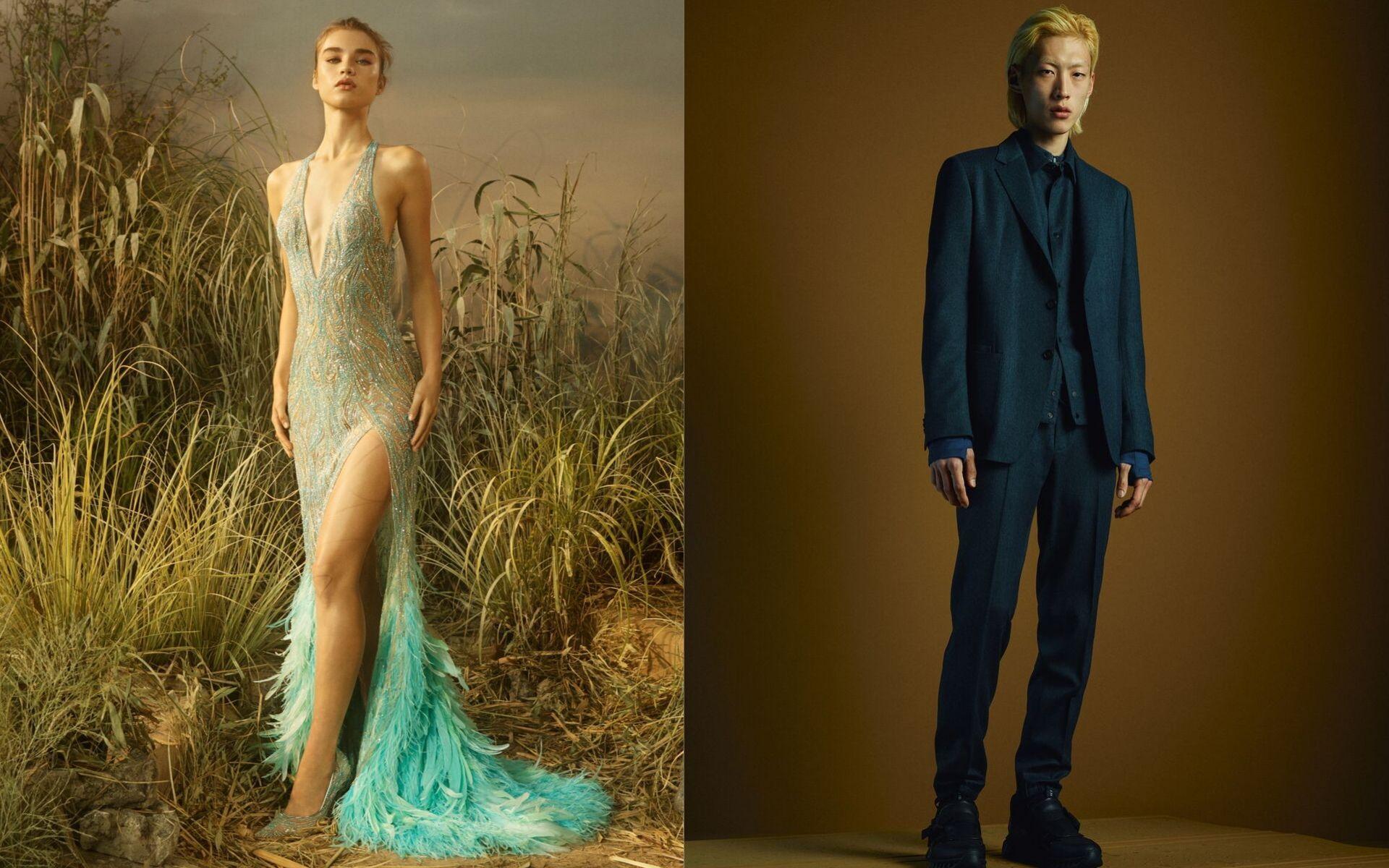 Photo: Courtesy of Versace & Ermenegildo Zegna