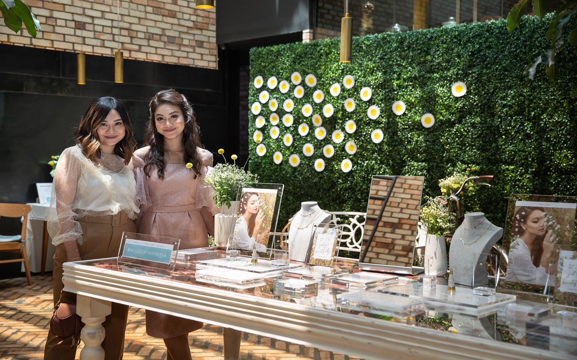 Jenn Low and Daiyan Trisha