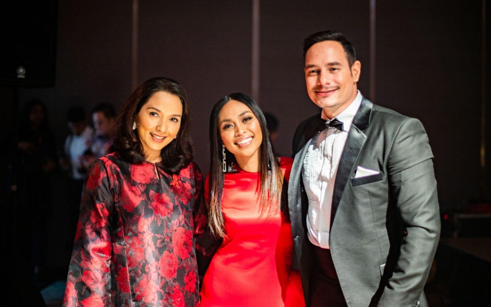 Vanidah Imran, Dayang Nurfaizah and Joey G