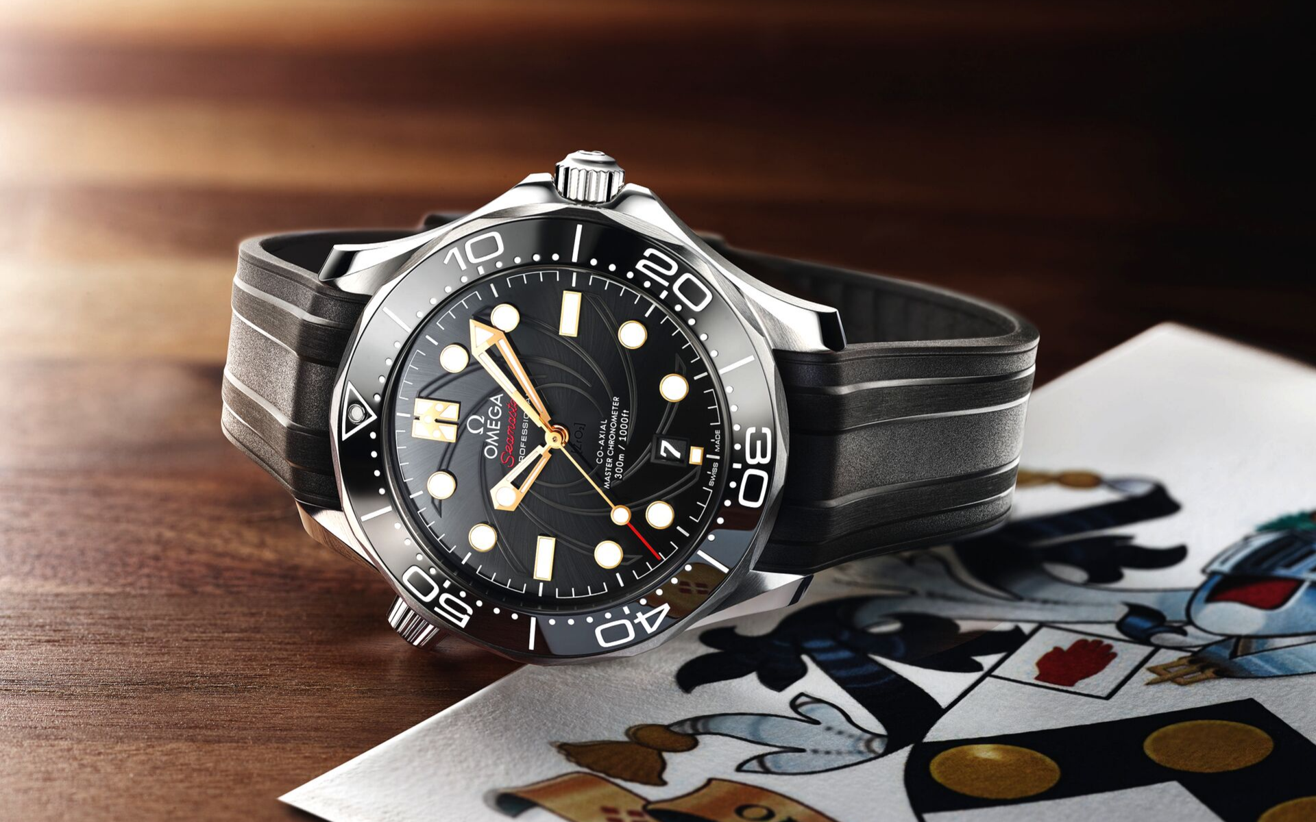 This Omega Seamaster Celebrates The James Bond Film, 'On Her Majesty's Secret Service'