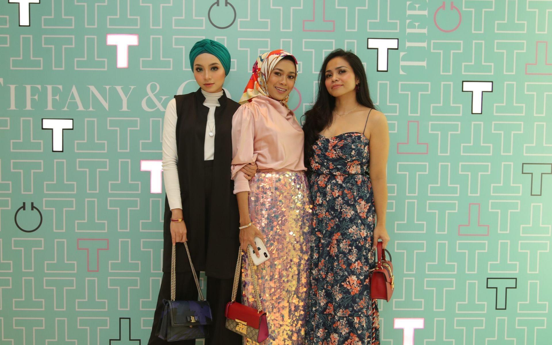 Nor Shazleen, Intan Azura and Farah Adibah