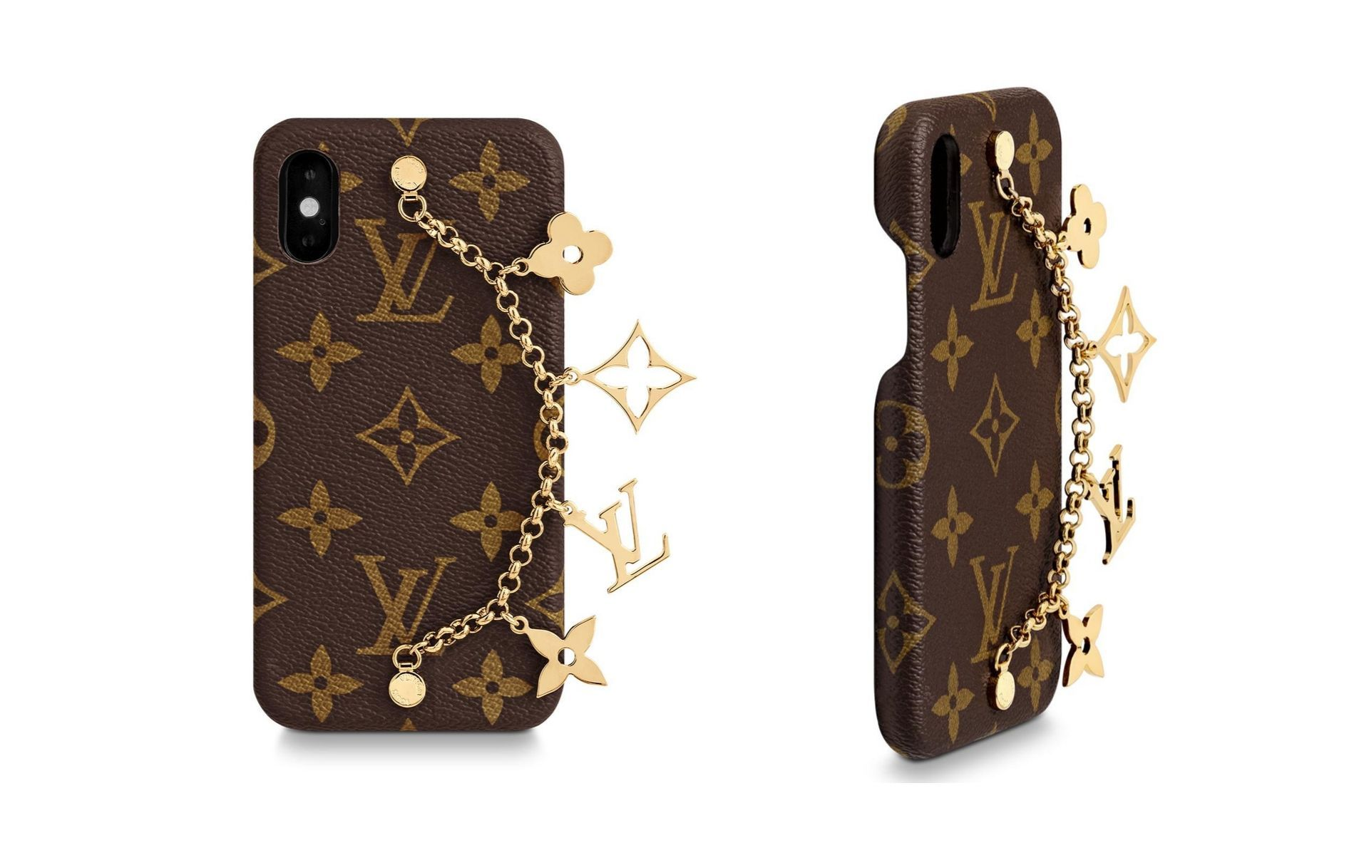 We're charmed by this LV monogrammed case. (Photo: Louis Vuitton)