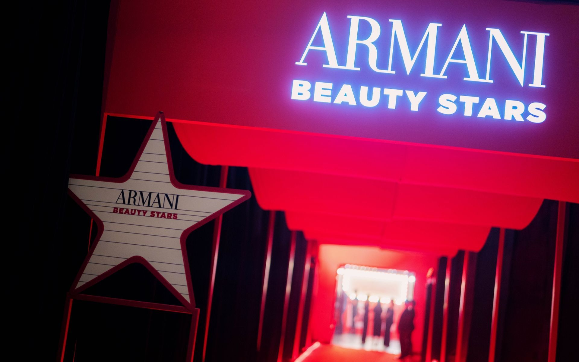 Red Carpet Roll-Out For Armani Beauty Stars