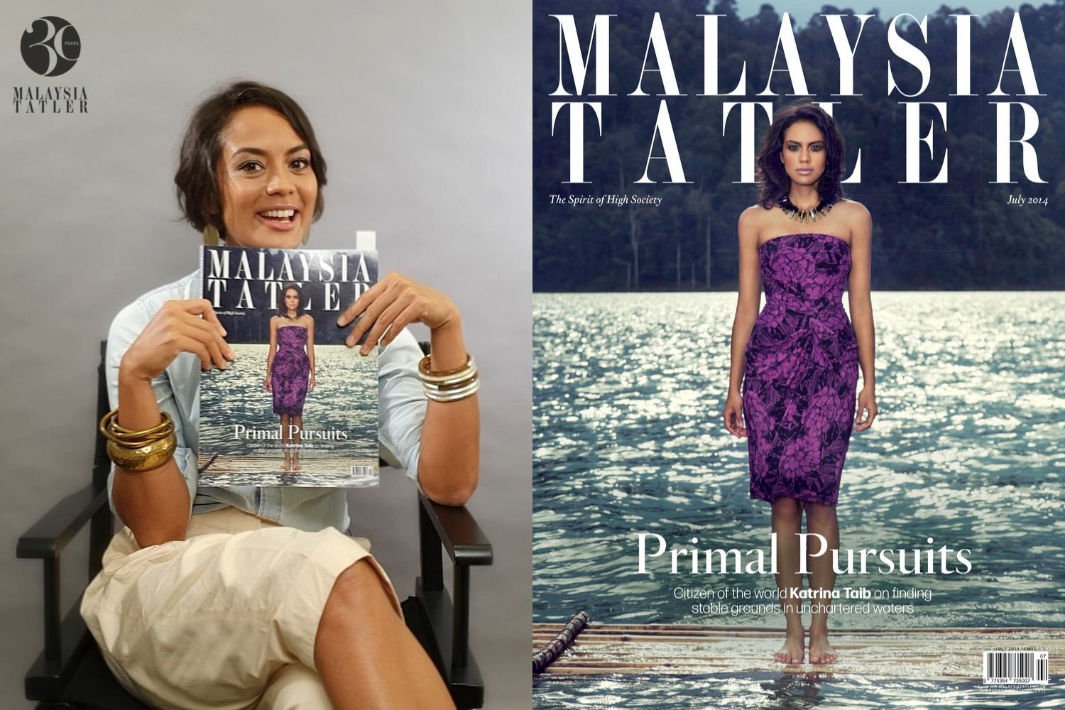 30 Years Of Malaysia Tatler: Katrina Taib Looks Back On Her Past Cover