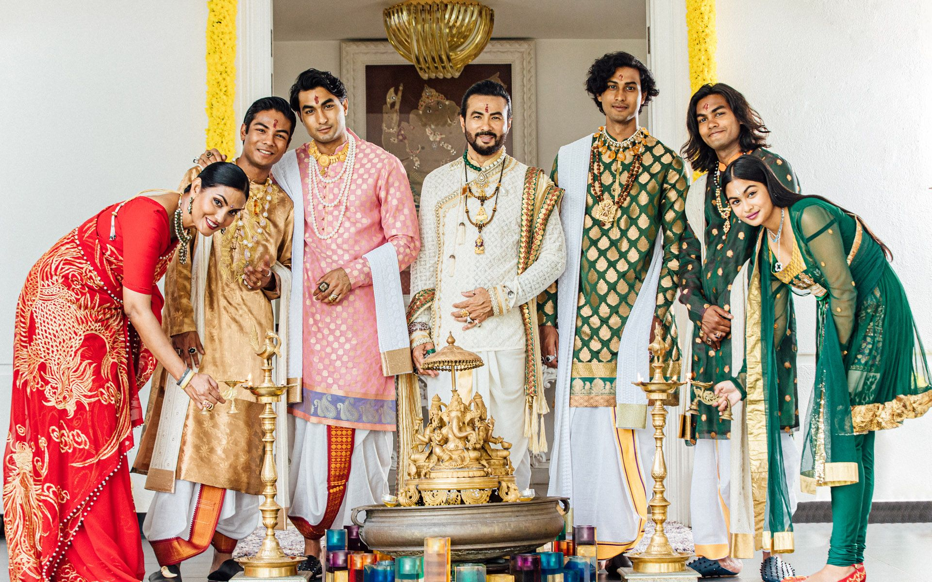 Why These Diwali Traditions By Dato' Sri Bernard Chandran & Family Will Never Go Out Of Style