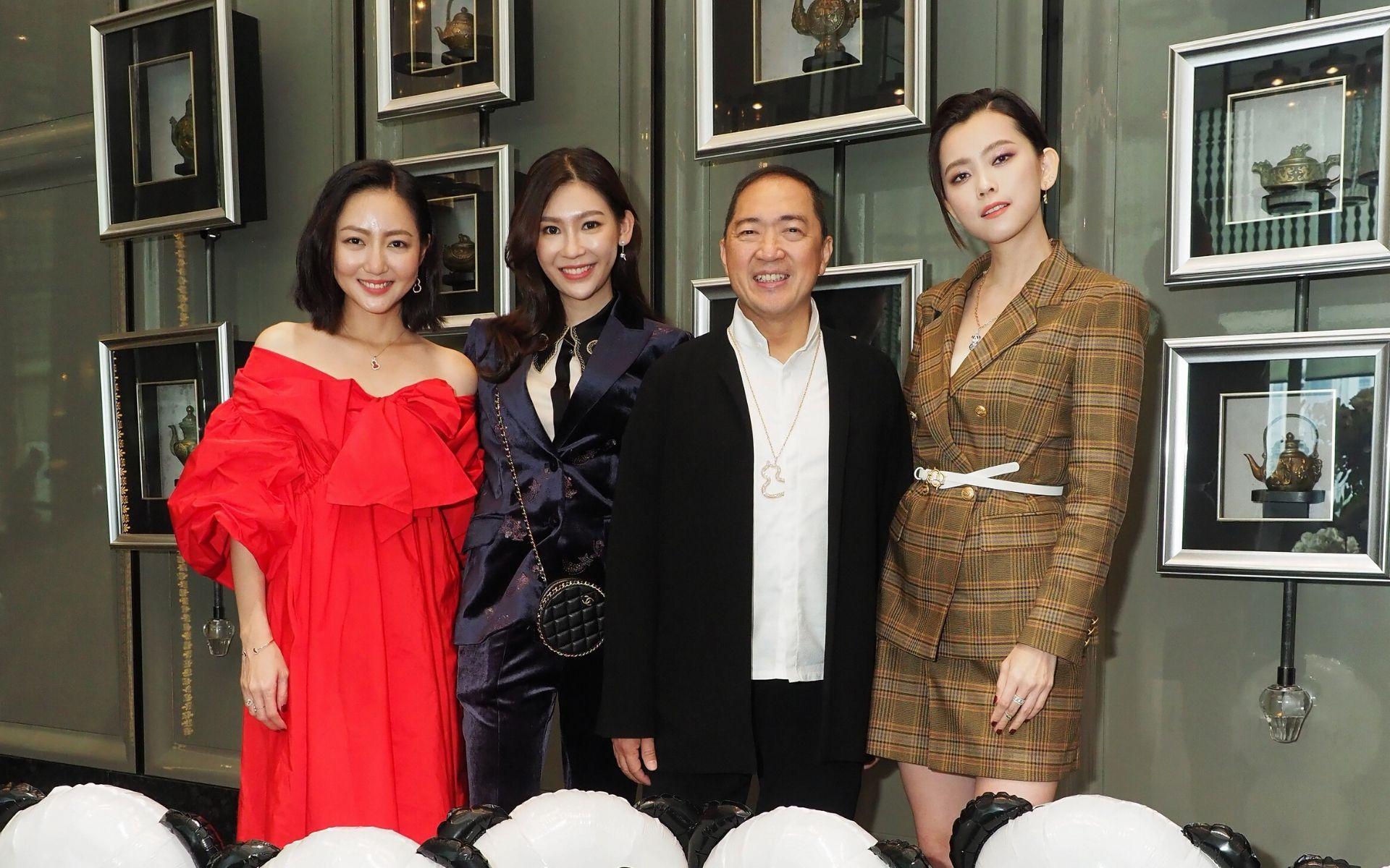 Jojo Goh, Anjoe Koh, Dennis Chan and Natalia Ng