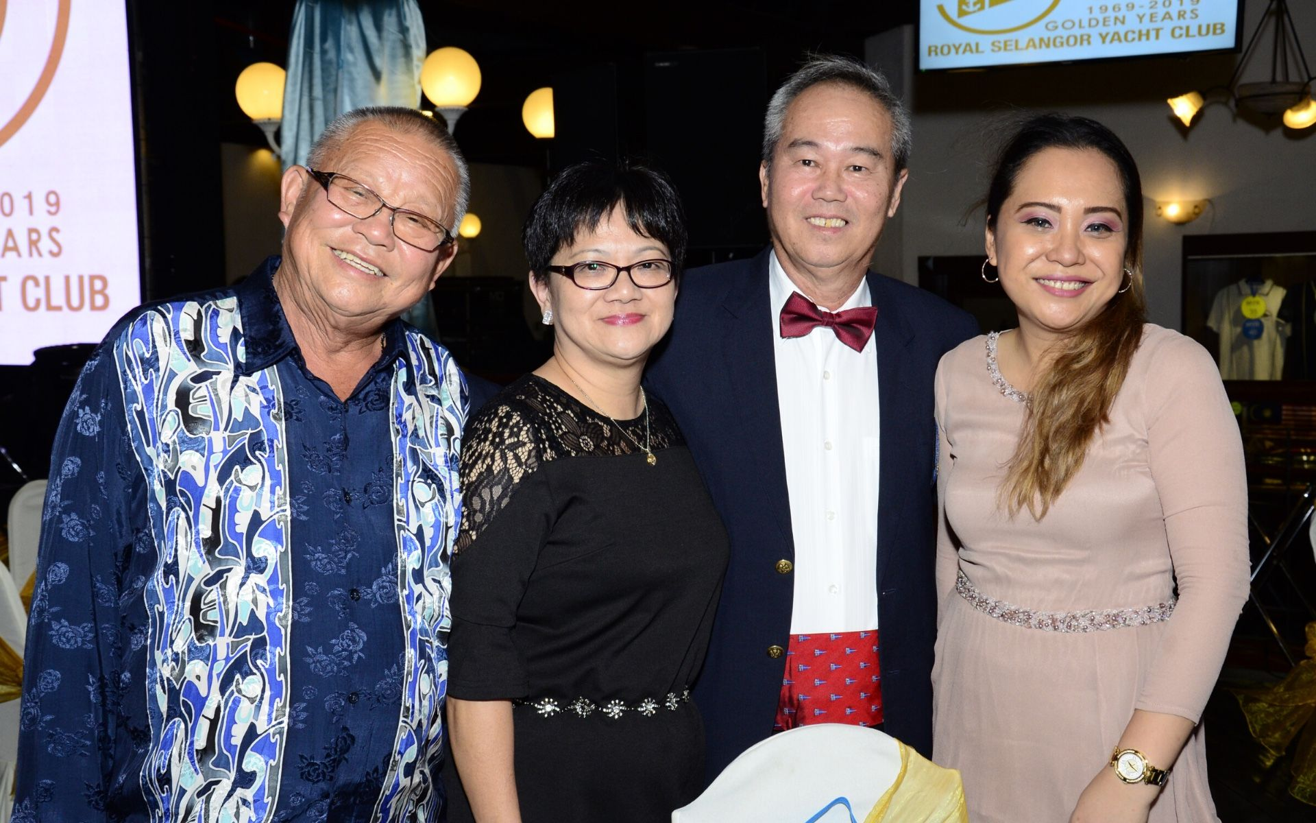 Cheou Yoon Kuan, Christina Say, James Wong and Sylvia Tremas