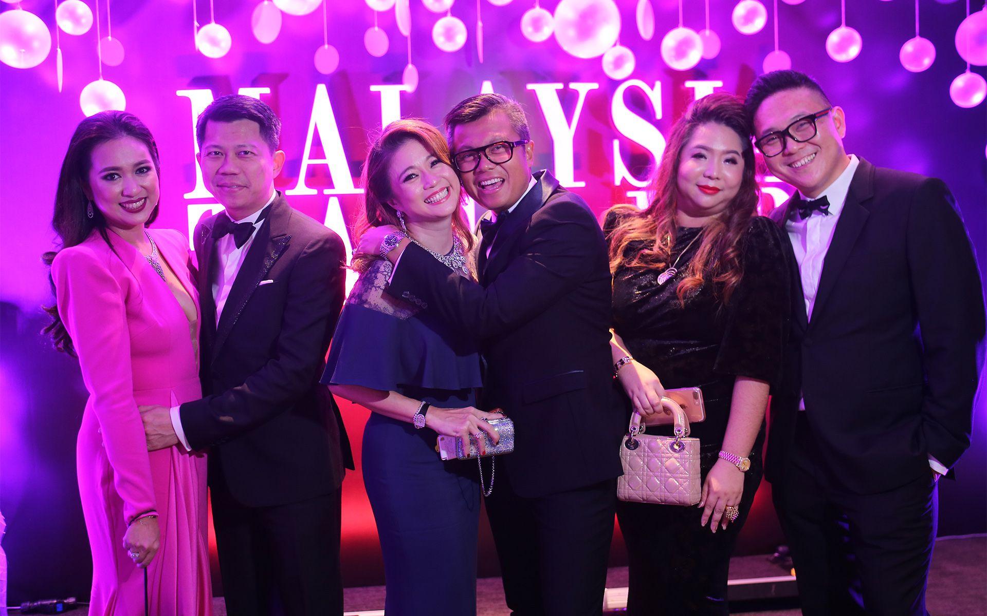 Datin Yvette Kang, Datuk Michael Tang, Mariam Teh, Ewan Saufi Abas, Yap Ai Leen and Foo Ken Vin