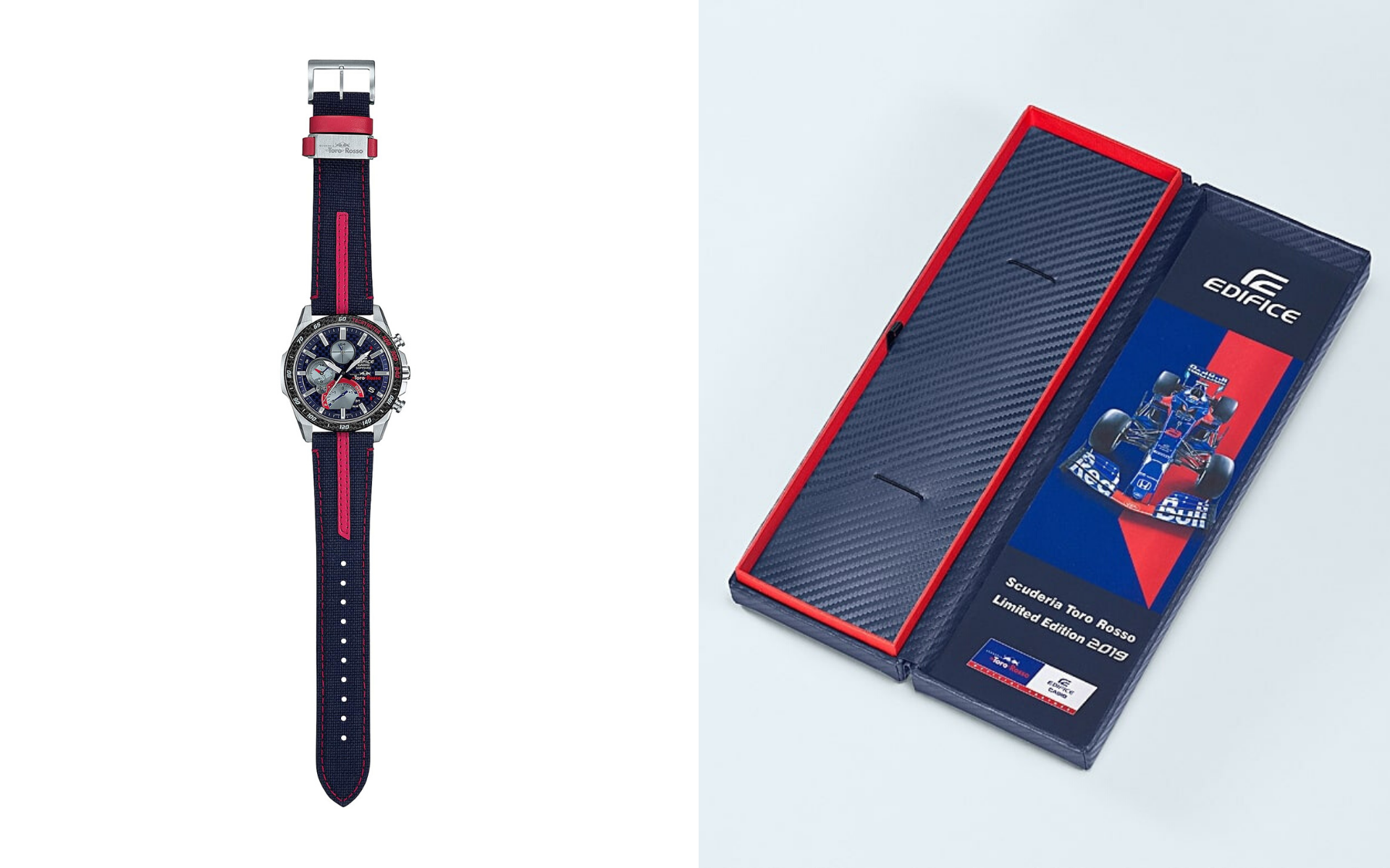 Innovative Acceleration: A Collaboration Between Casio and Scuderia Toro Rosso Formula One Team