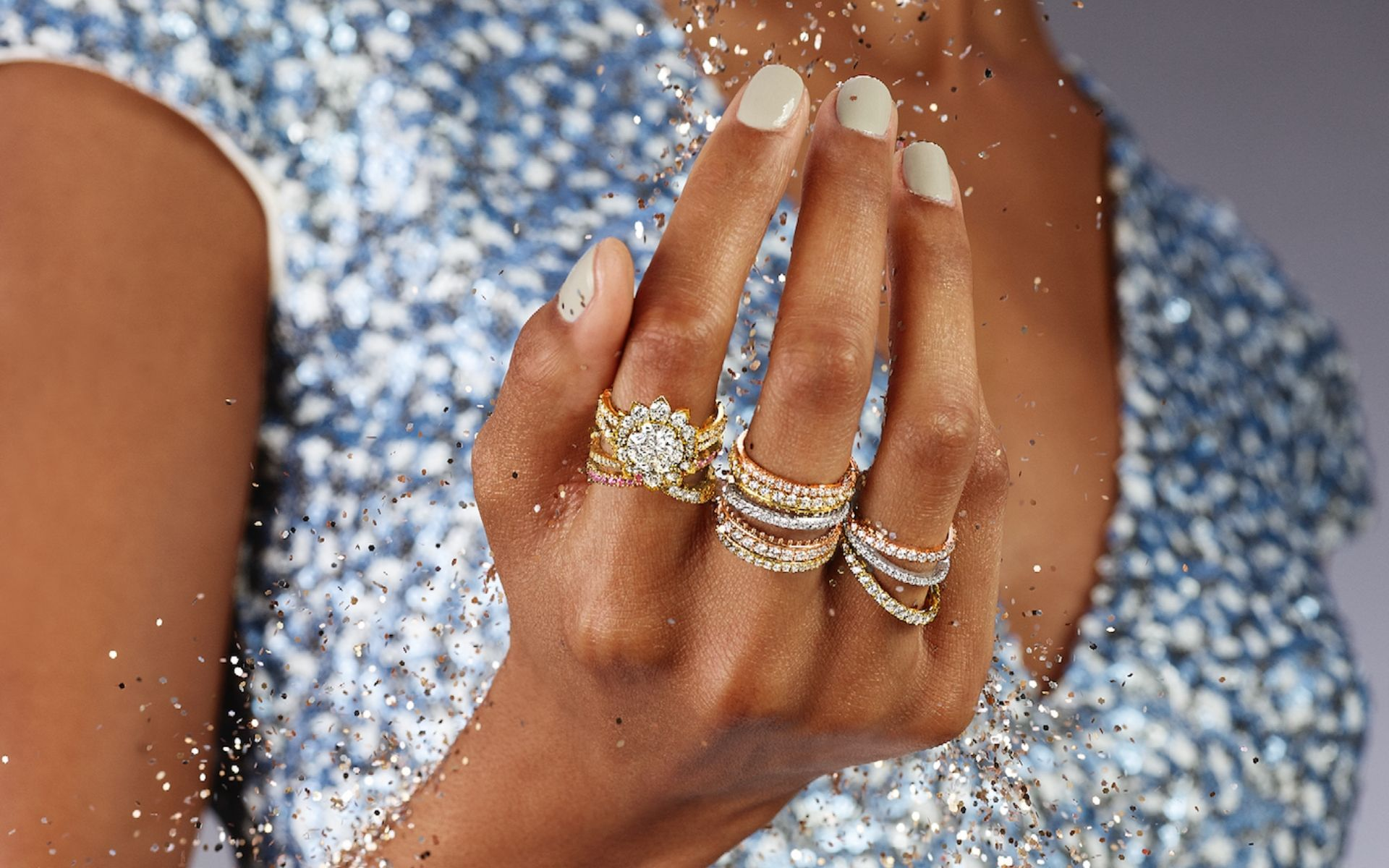 Wedding Dress Designer Hayley Paige Collaborates With Jeweller Hearts On Fire For A Collection Of Engagement Rings