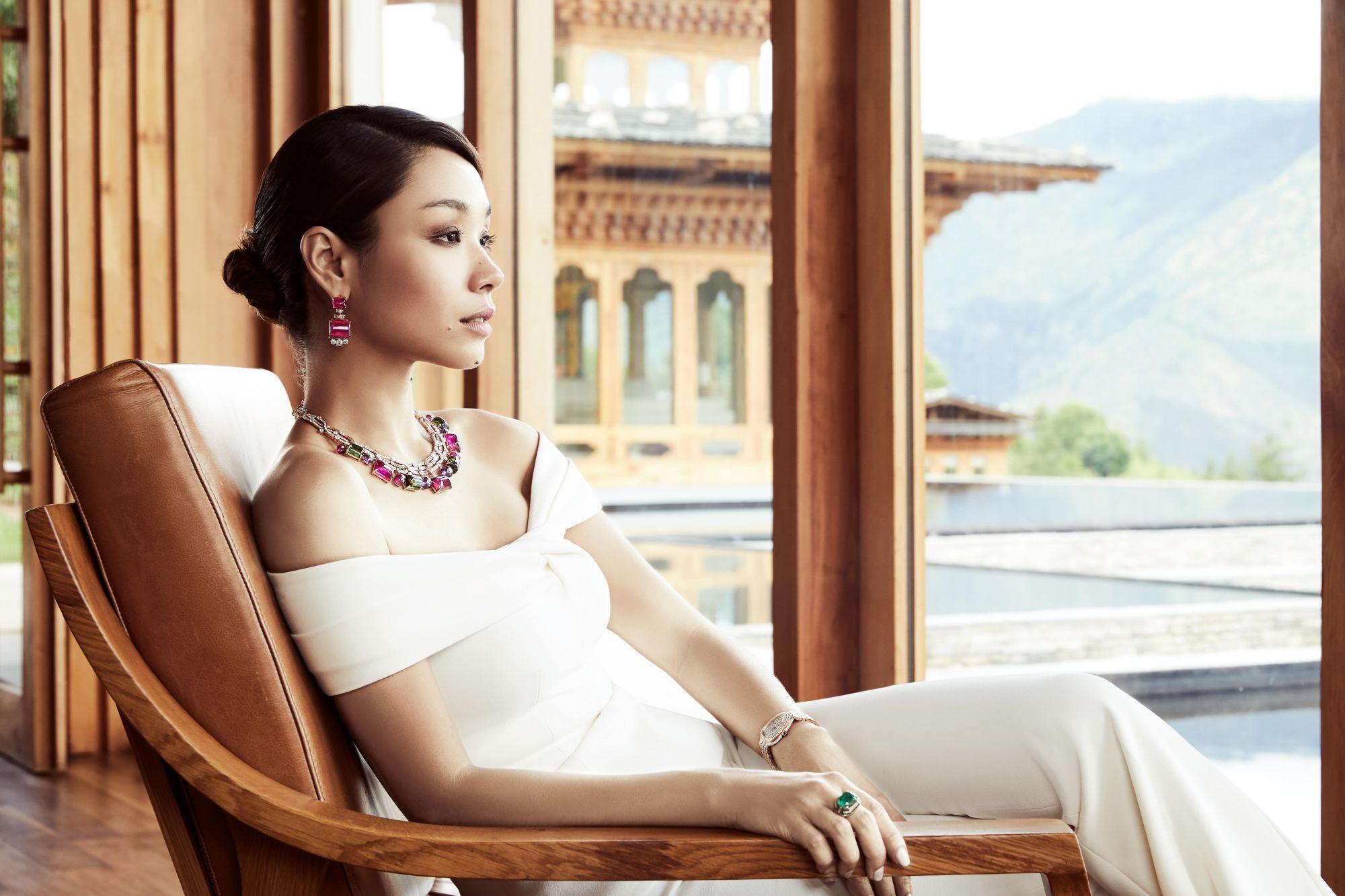 Bling In Bhutan: Marion Caunter & Bulgari's Cinemagia High Jewellery Collection