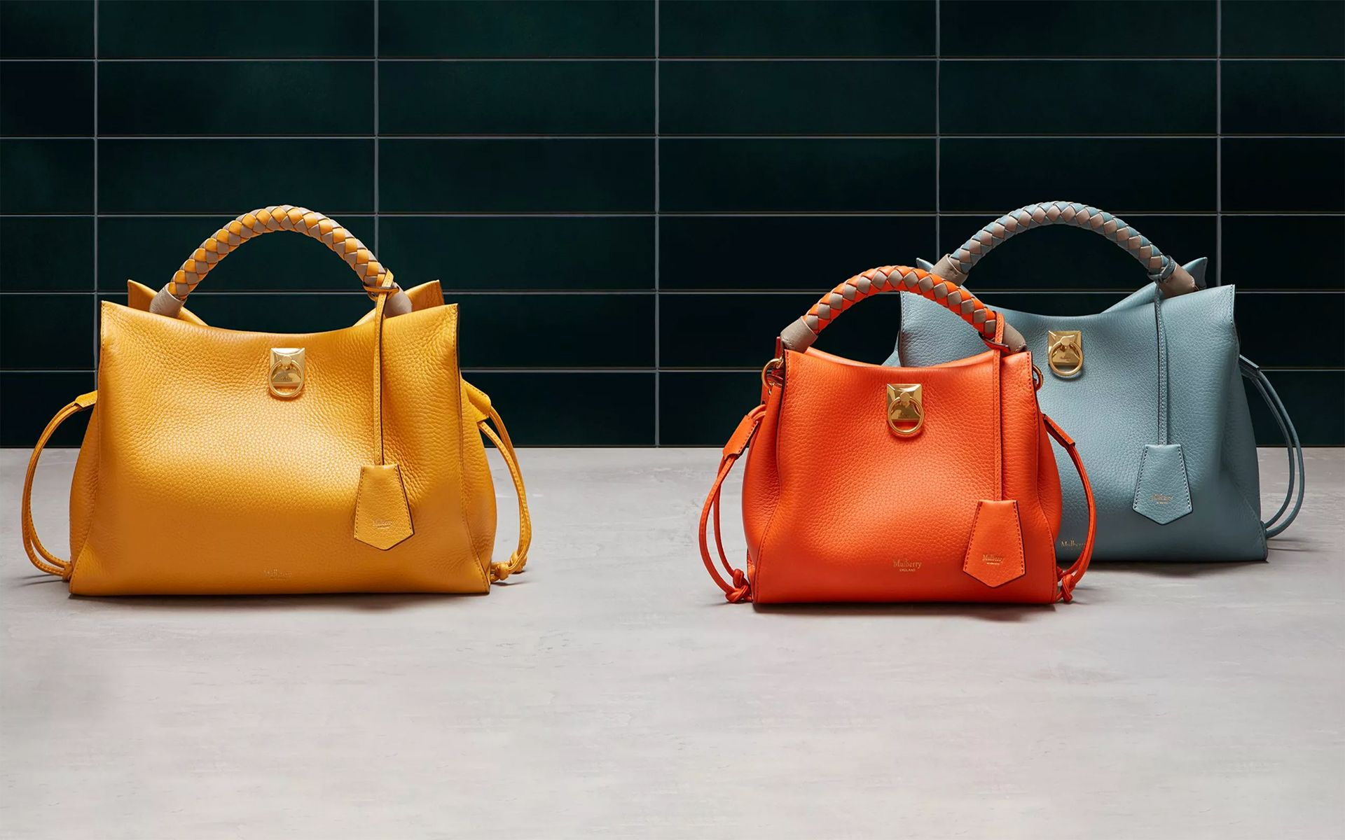 Discover The New Mulberry Iris Bag Collection