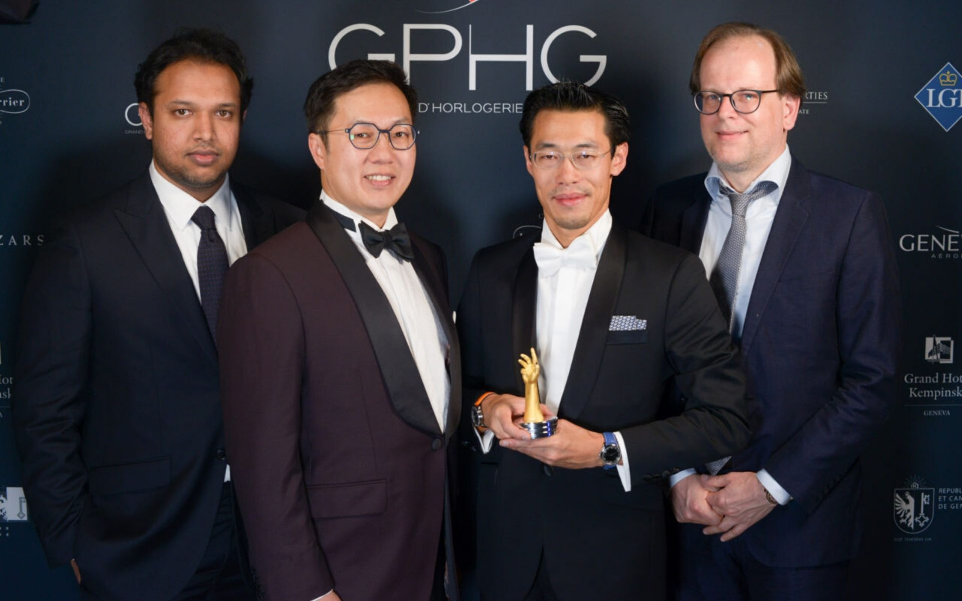 Ming From Malaysia Wins A Prize At 2019 Grand Prix D'Horlogerie De Geneve That Awards Excellence In Watchmaking