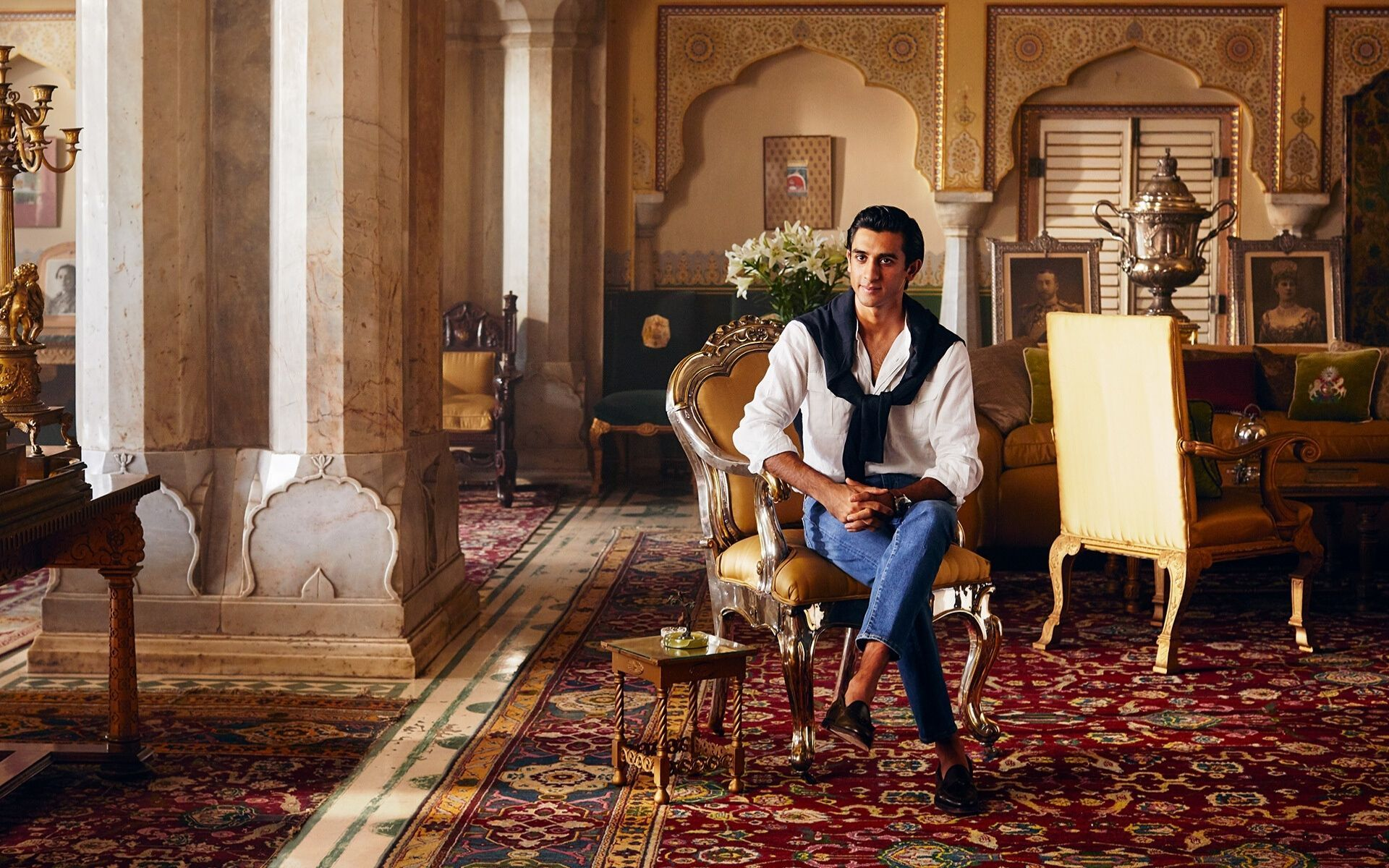 Fancy Staying In A Palace With 21-Year-Old Monarch Of Jaipur, Padmanabh Singh, As Your Airbnb Host?