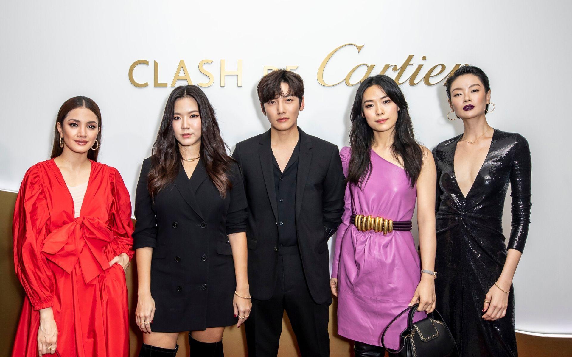 Nur Fazura, Rui En, Ji Chang-Wook, Rebecca Lim and Sheila Sim