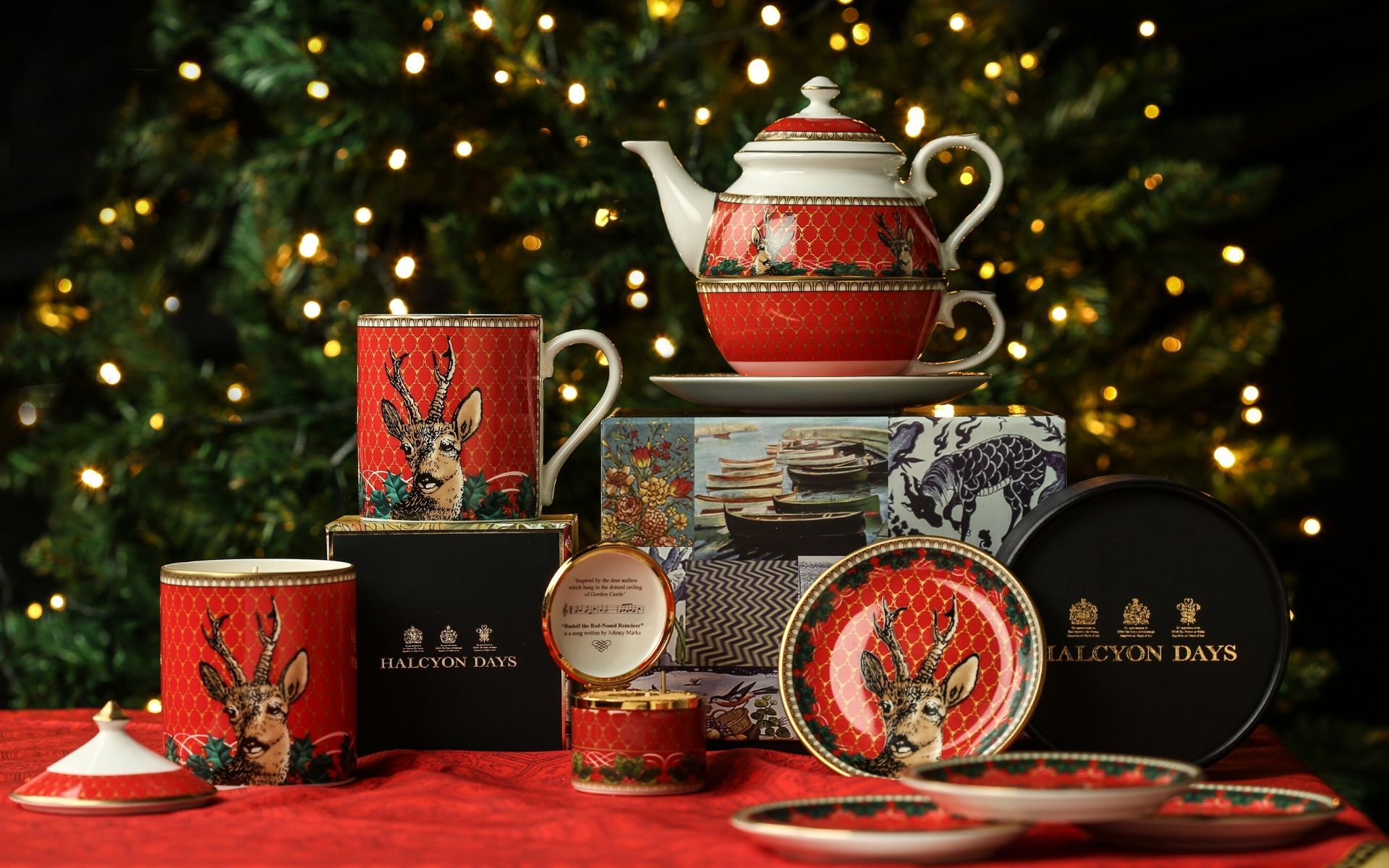 Halcyon Days' 2019 Christmas Collection Adds A Festive Touch To Your Home