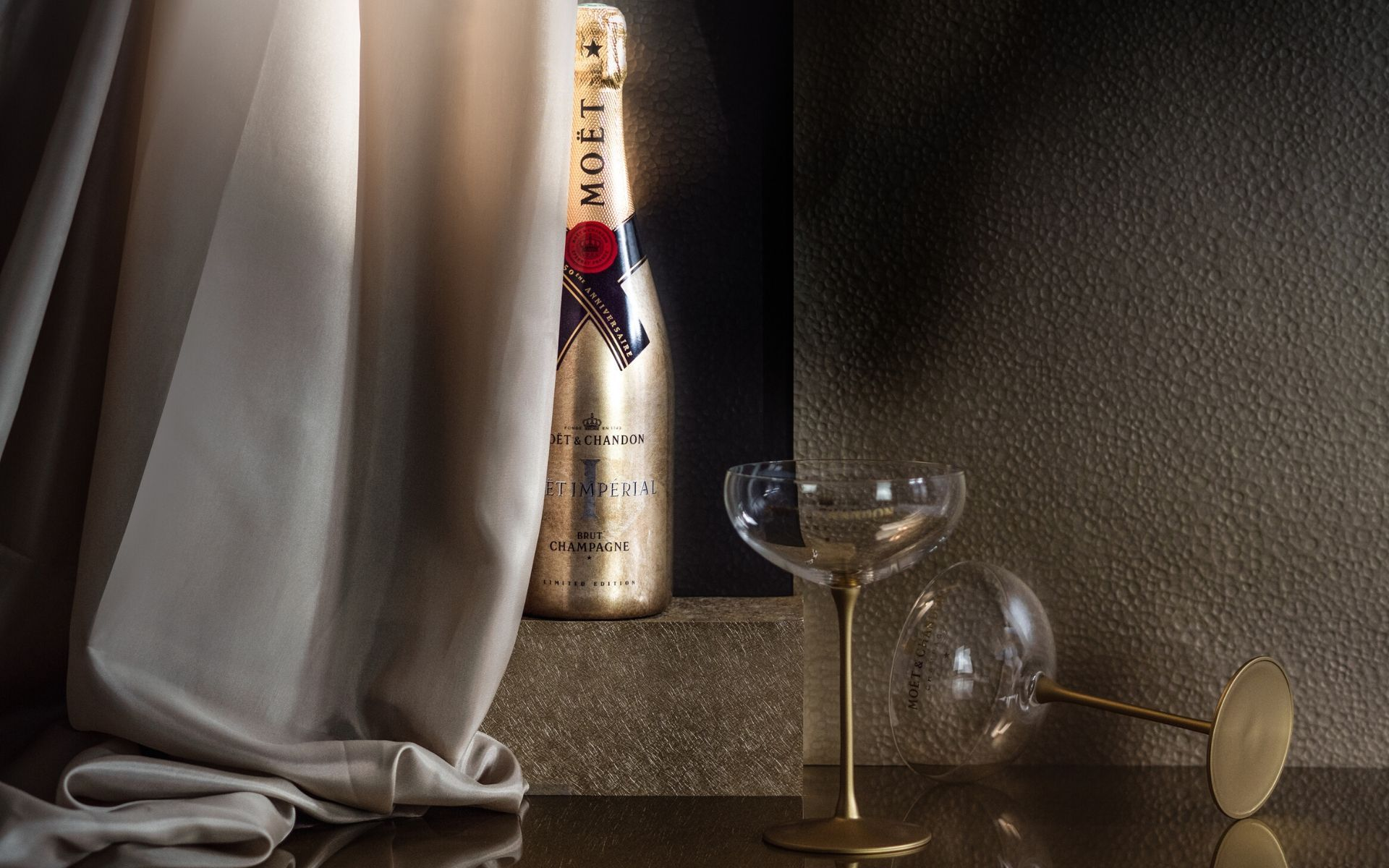 Moët & Chandon Celebrates 150 Years Of Moët Impérial With A Limited-Edition Holiday Bottle