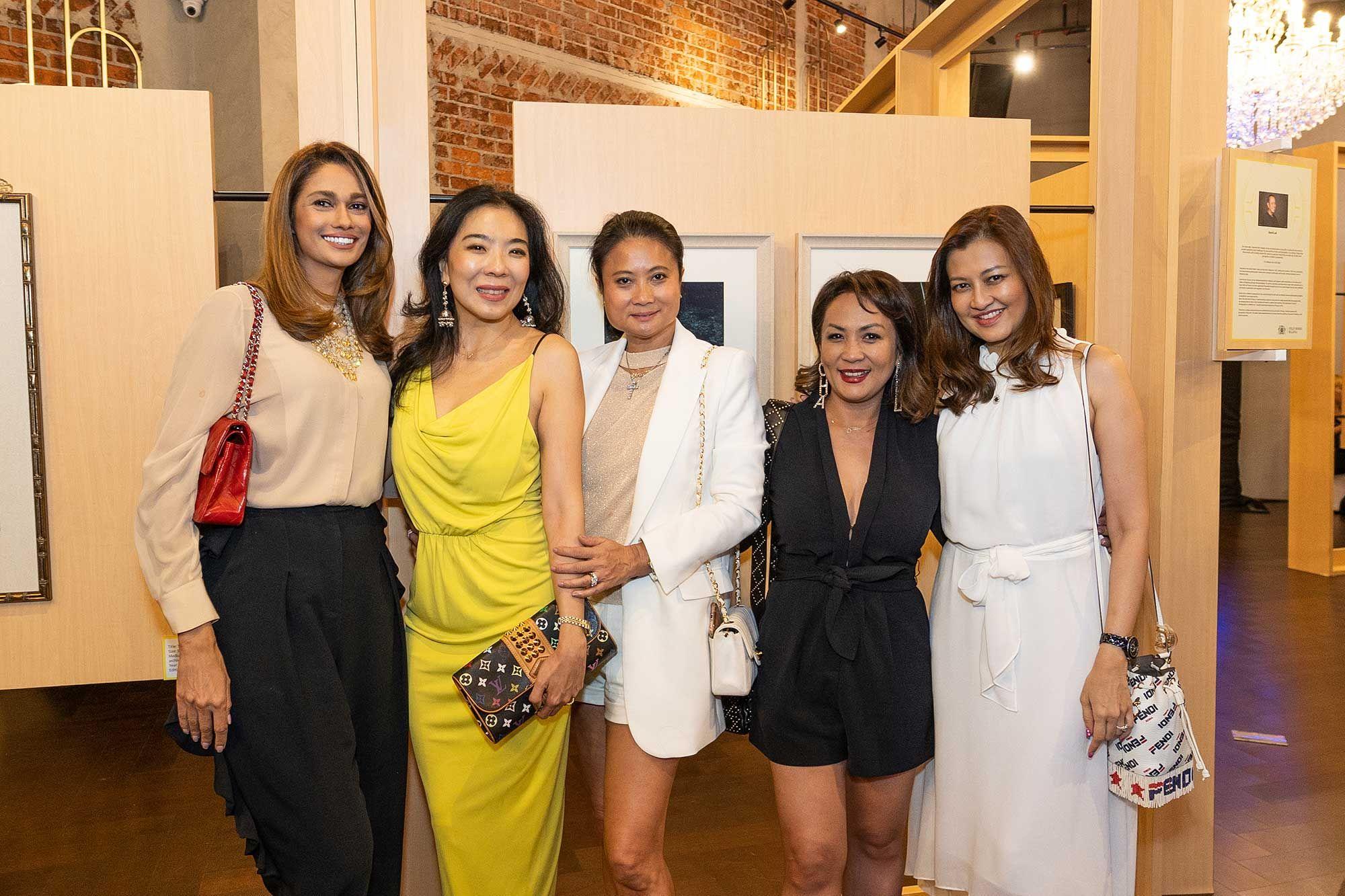 Kavita Sidhu, Lim Wei Ling, Christina Ho, Puteri Badrinise and Meera Sen