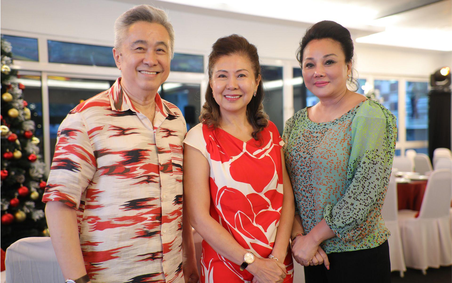 Tan Sri Lim Huah Leong, Puan Sri Wendy Lim and Dato' Sri Tracy Ong