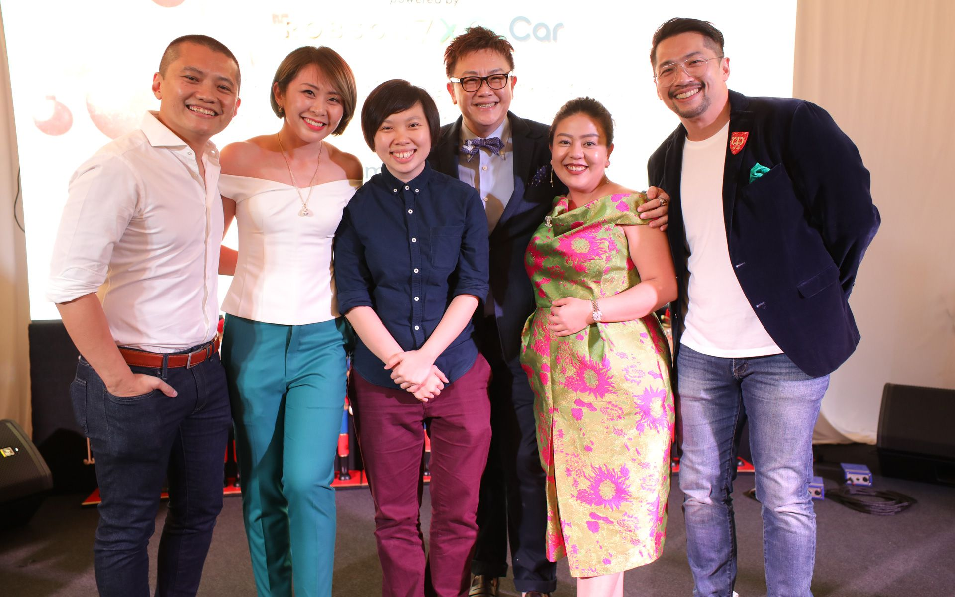 Alan Cheah, Lim Ai San, Kim Lim, Peter Lum, Tan Yih Ling and Cyrus Chin