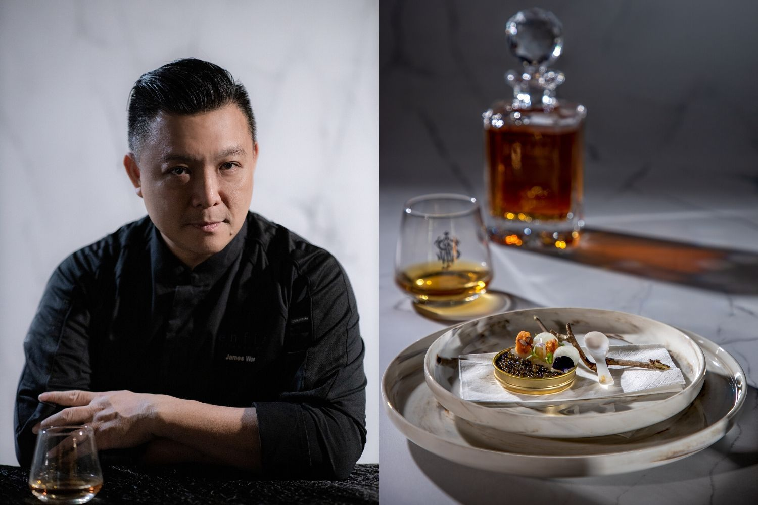Johnnie Walker Blue Label & Enfin By James Won: A Collaboration We'll Drink To