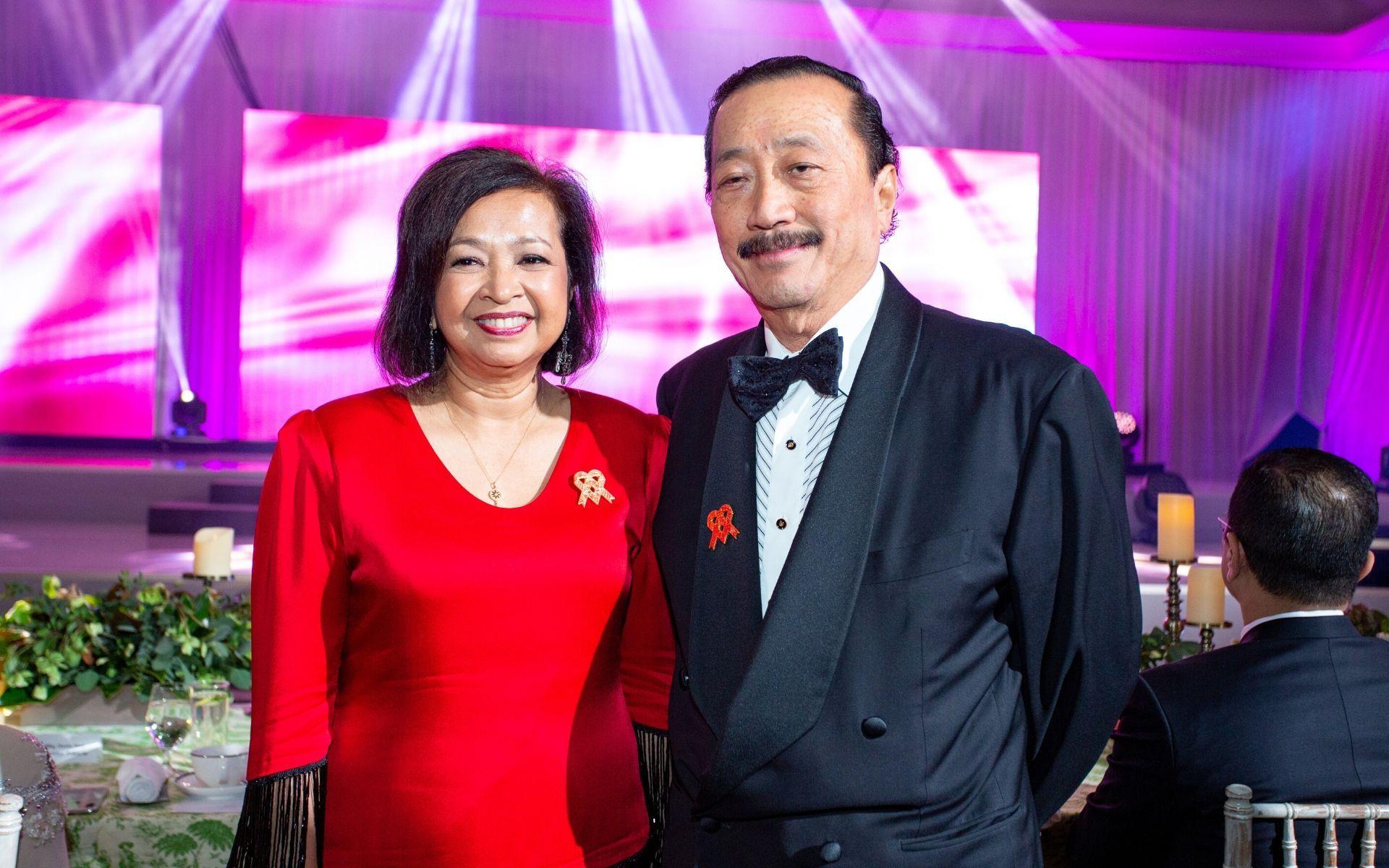 Datin Paduka Marina Mahathir and Tan Sri Vincent Tan