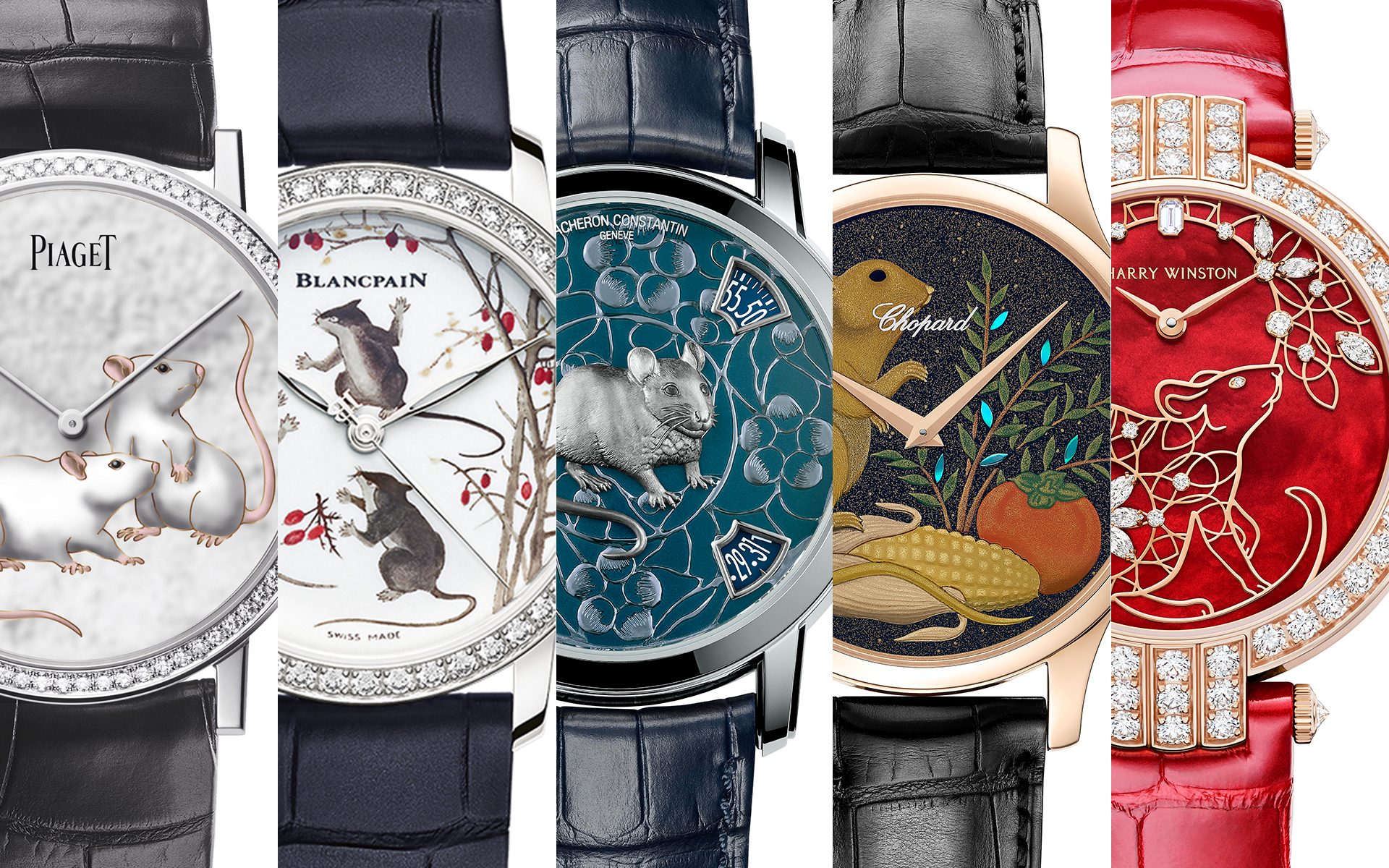 Luxury Watches: Chinese New Year Of The Metal Rat Edition