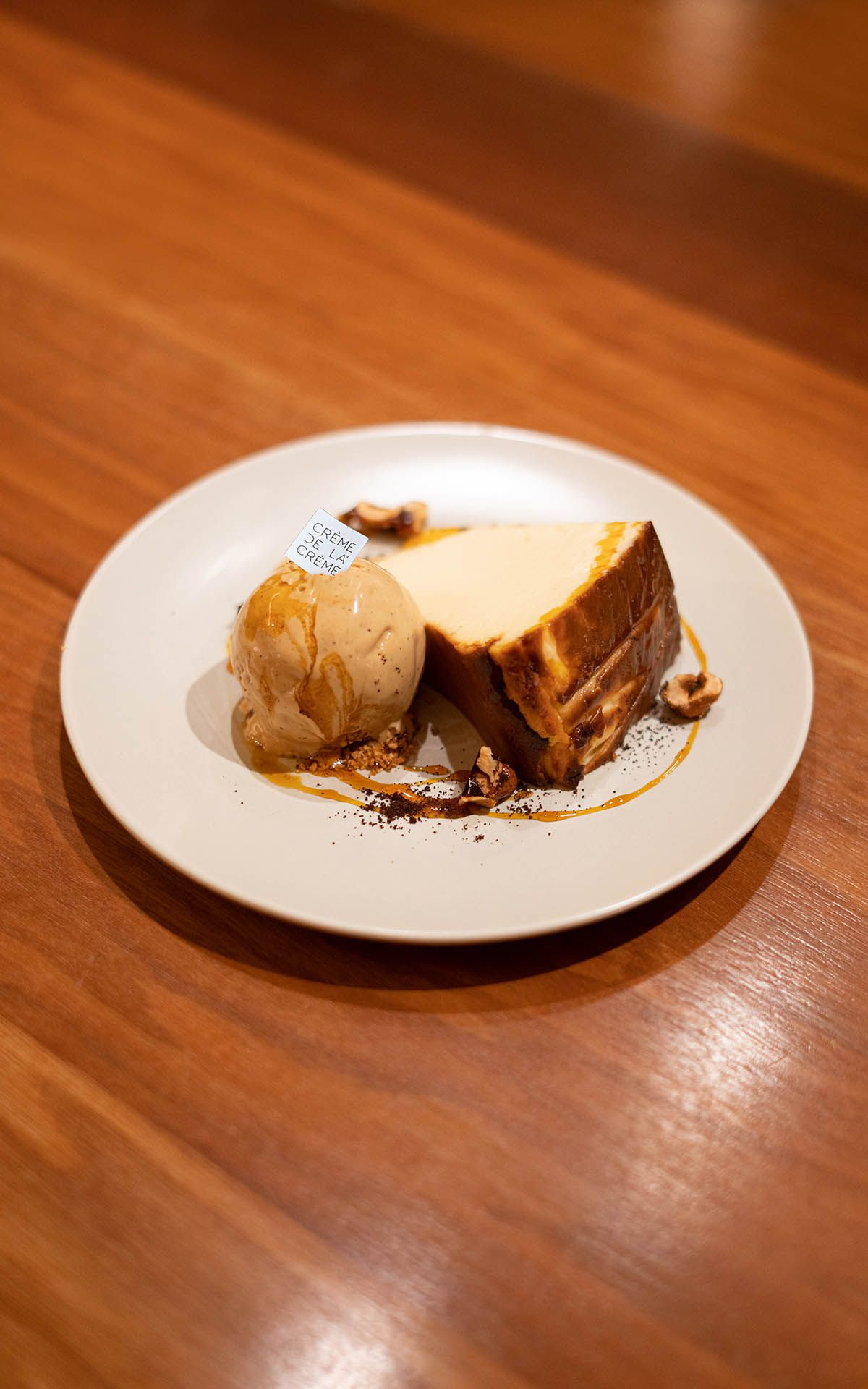 Try This: Burnt Cheesecake Ice Cream By The Tokyo Restaurant & Crème De La Crème