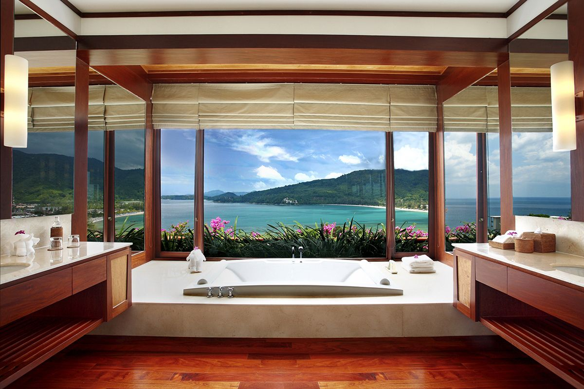 These Luxurious Hotel Bathrooms In Asia Have The Best Views