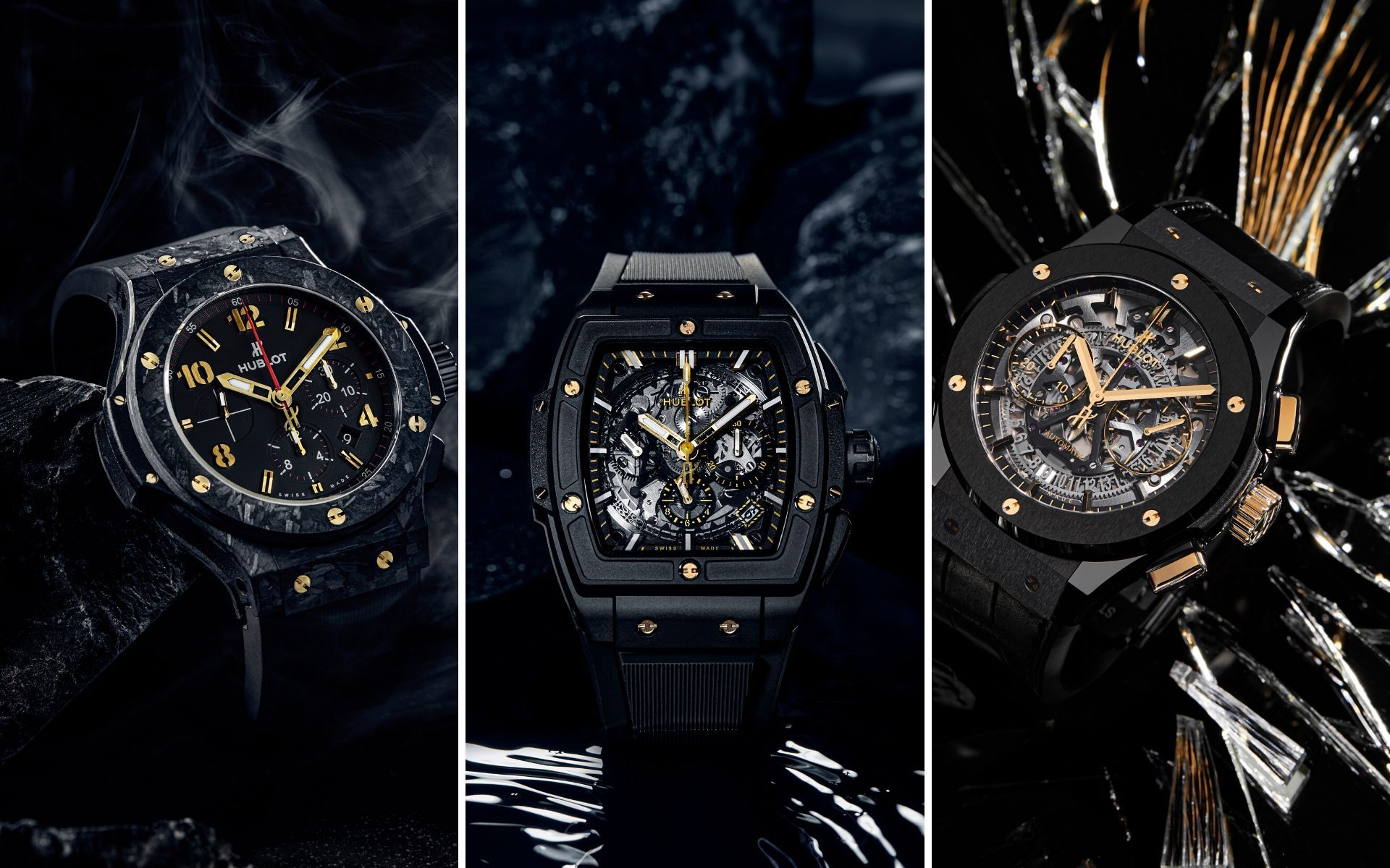 Black Beauties: Hublot Releases Watches Designed For Southeast Asia