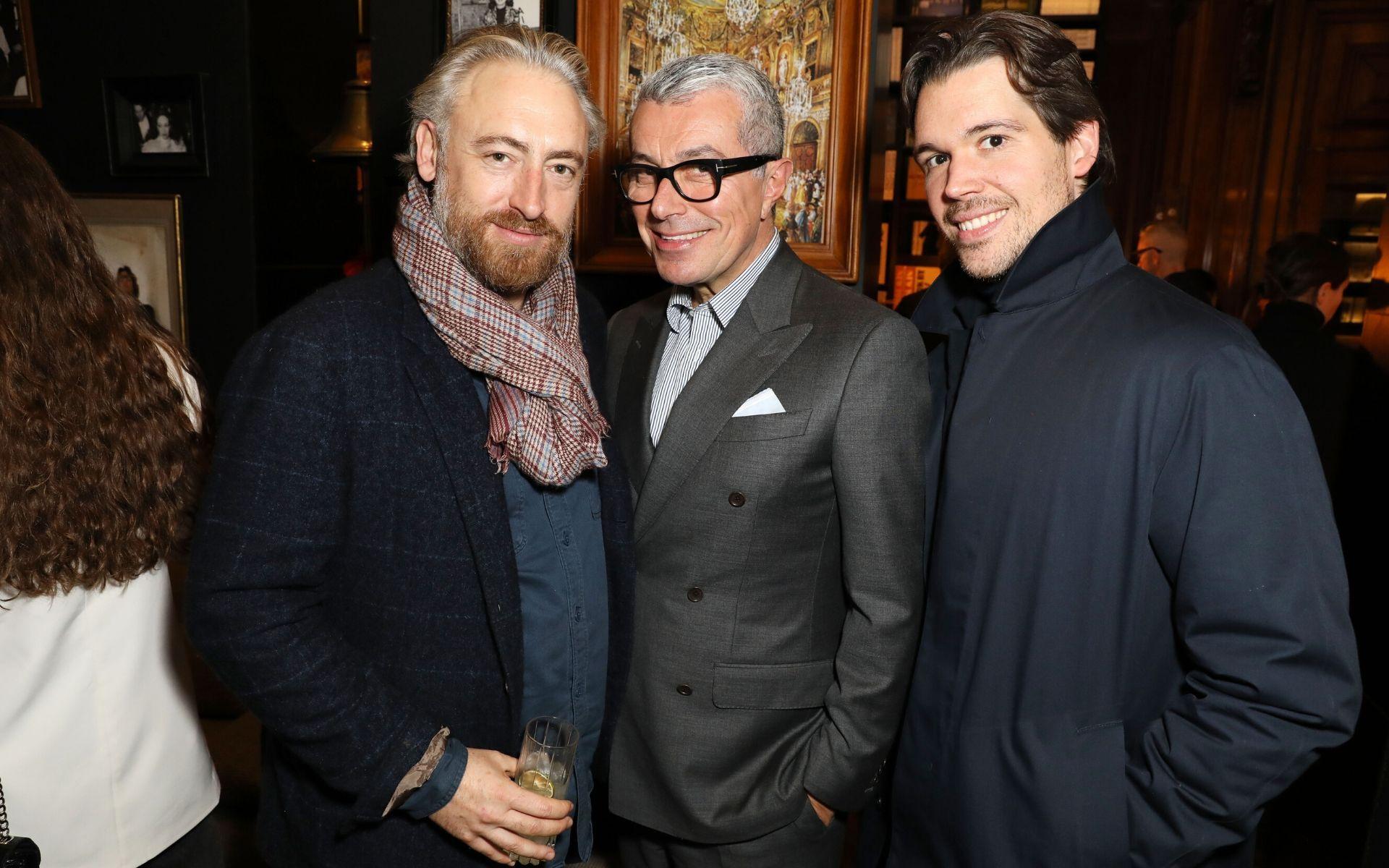 Luke Leitch, Giorgio Guidotti and Adam Kelly