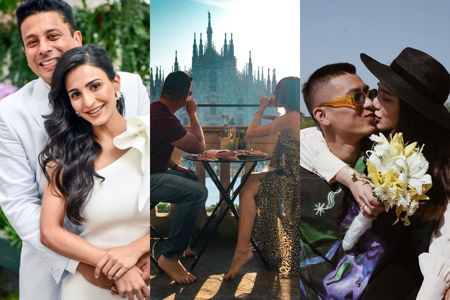 3 Couples On Celebrating Their First Valentine's Day As Husband & Wife