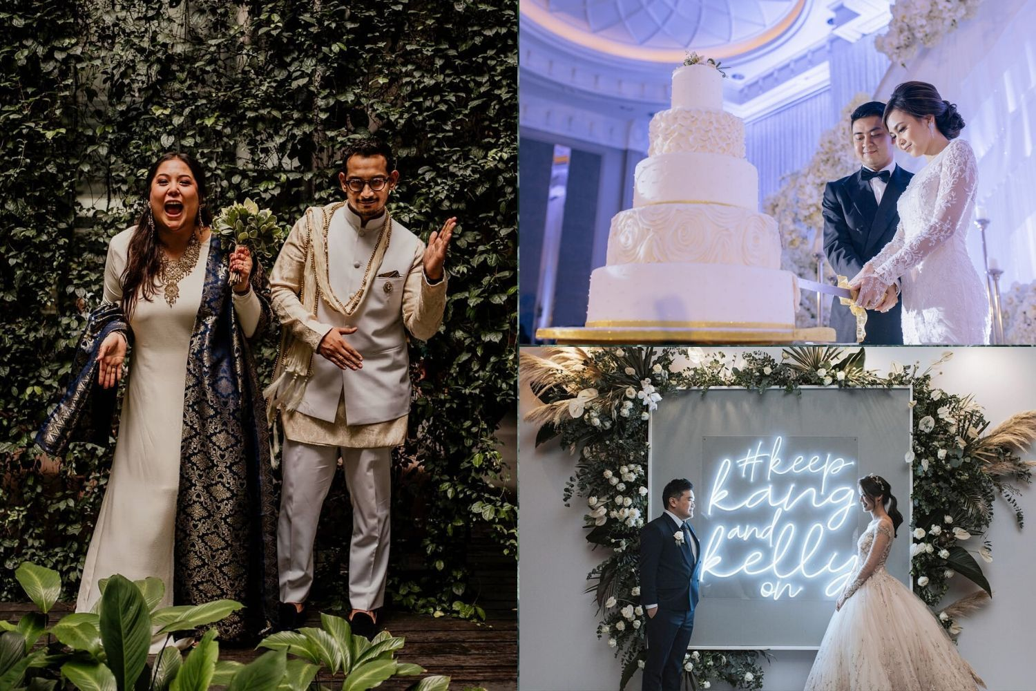 Heartwarming Moments From 4 Gorgeous Malaysian Weddings On Instagram