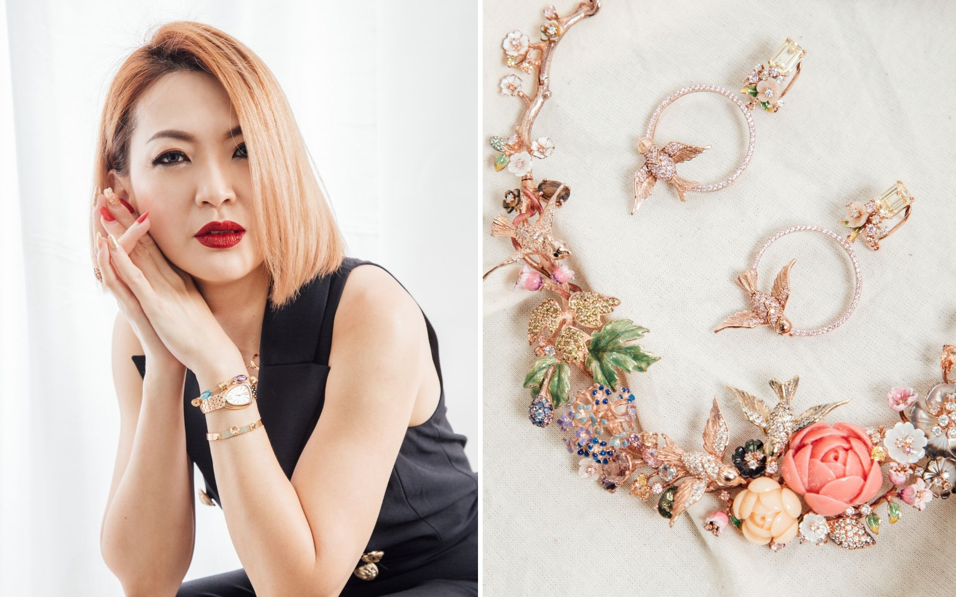 Style Profile: Les Jardin's Cherrie Chin And Her Love Of Jewellery