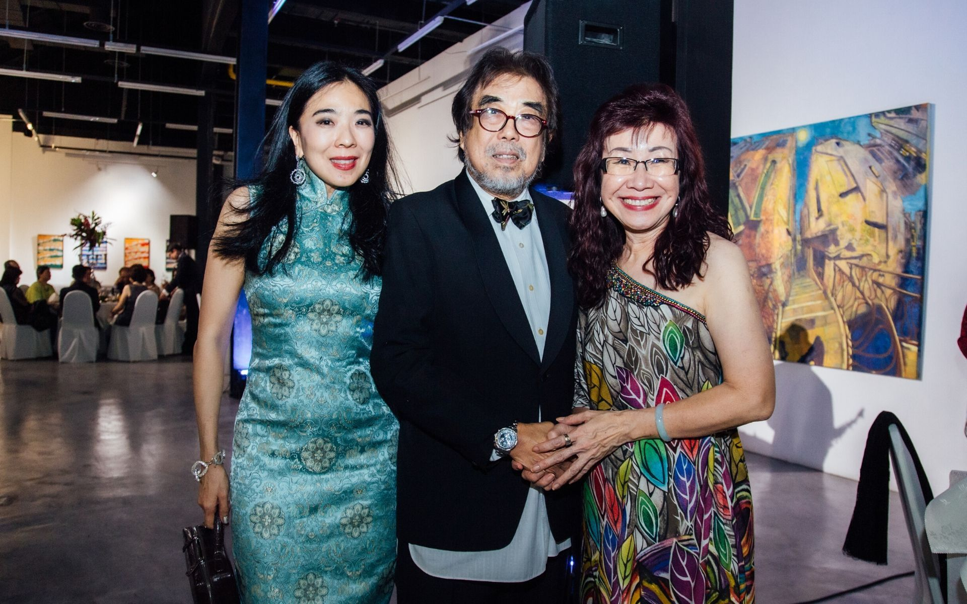 Lim Wei-Ling, Prof Dr Jimmy Lim and Florence Fang