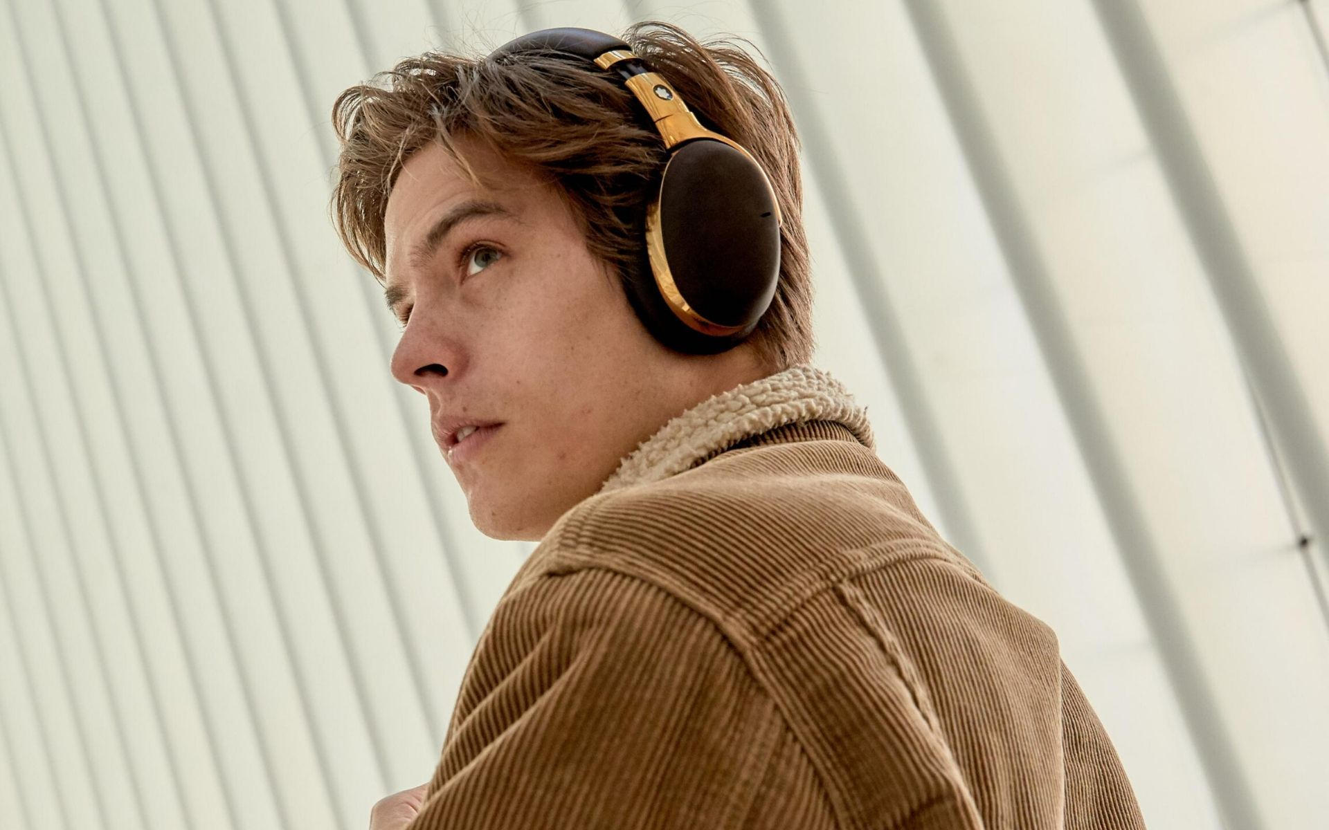 Montblanc Launches Its First Smart Headphones With Actor Dylan Sprouse