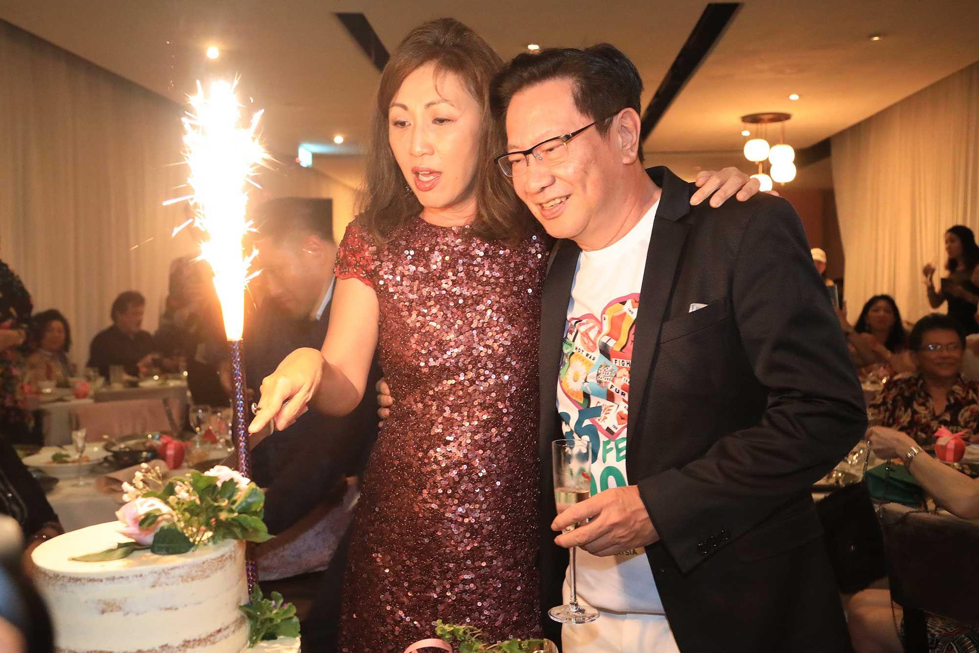 Datin Mina Cheah and Datuk Simon Foong