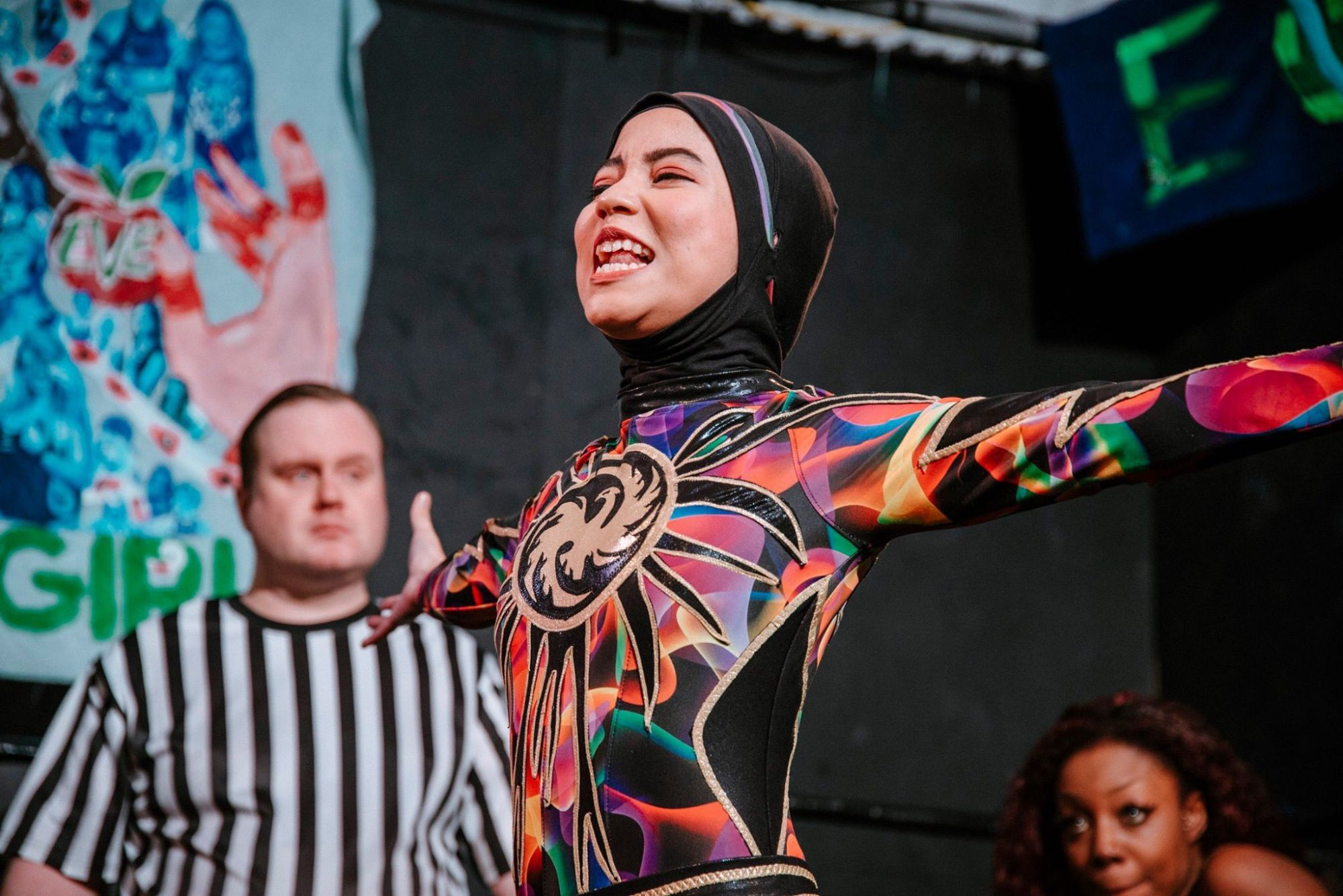 The World's First Hijab-Wearing Pro Wrestler, Nor 'Phoenix' Diana On Facing Life's Toughest Blows
