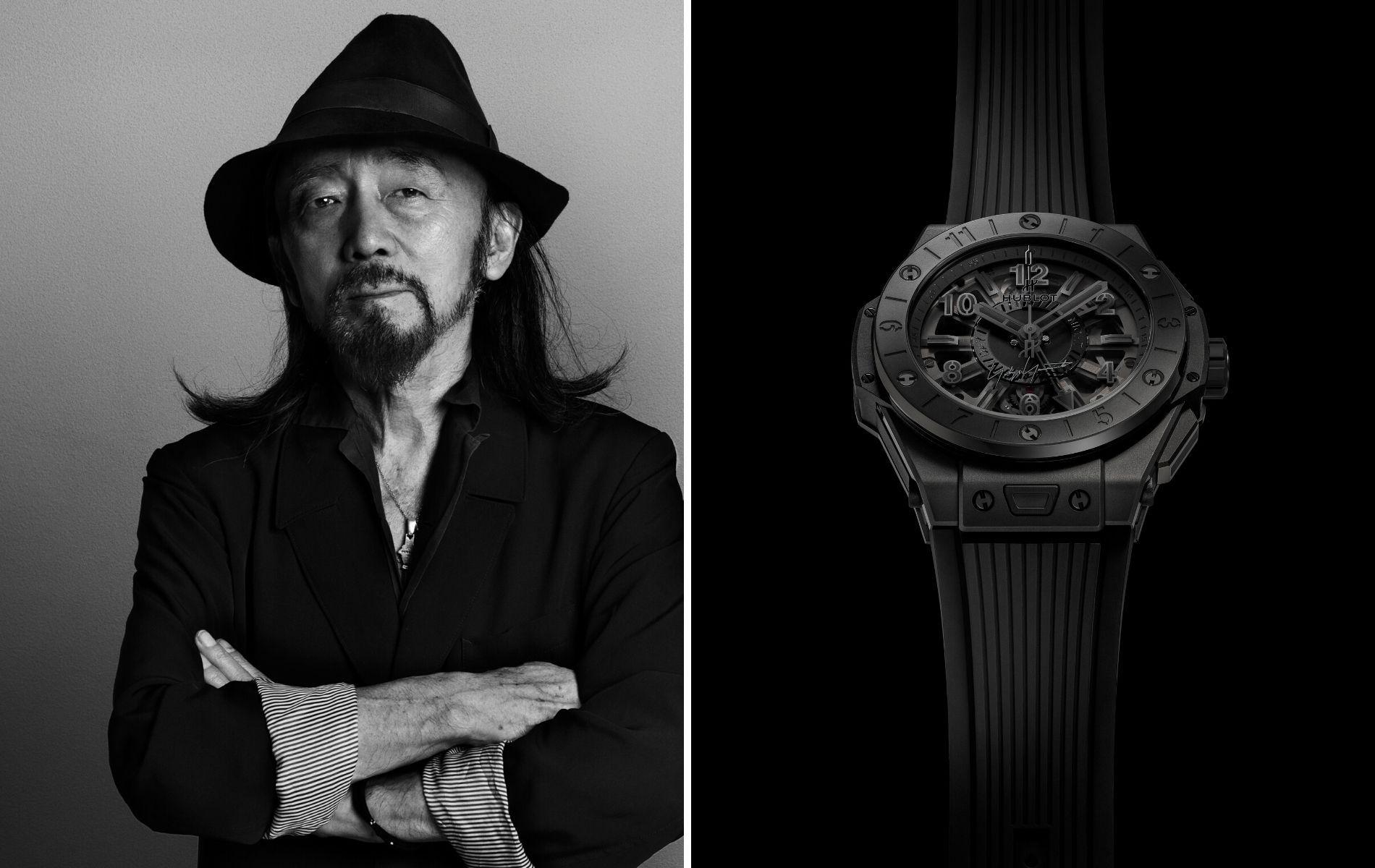 Yohji Yamamoto Designs A New Watch With Hublot