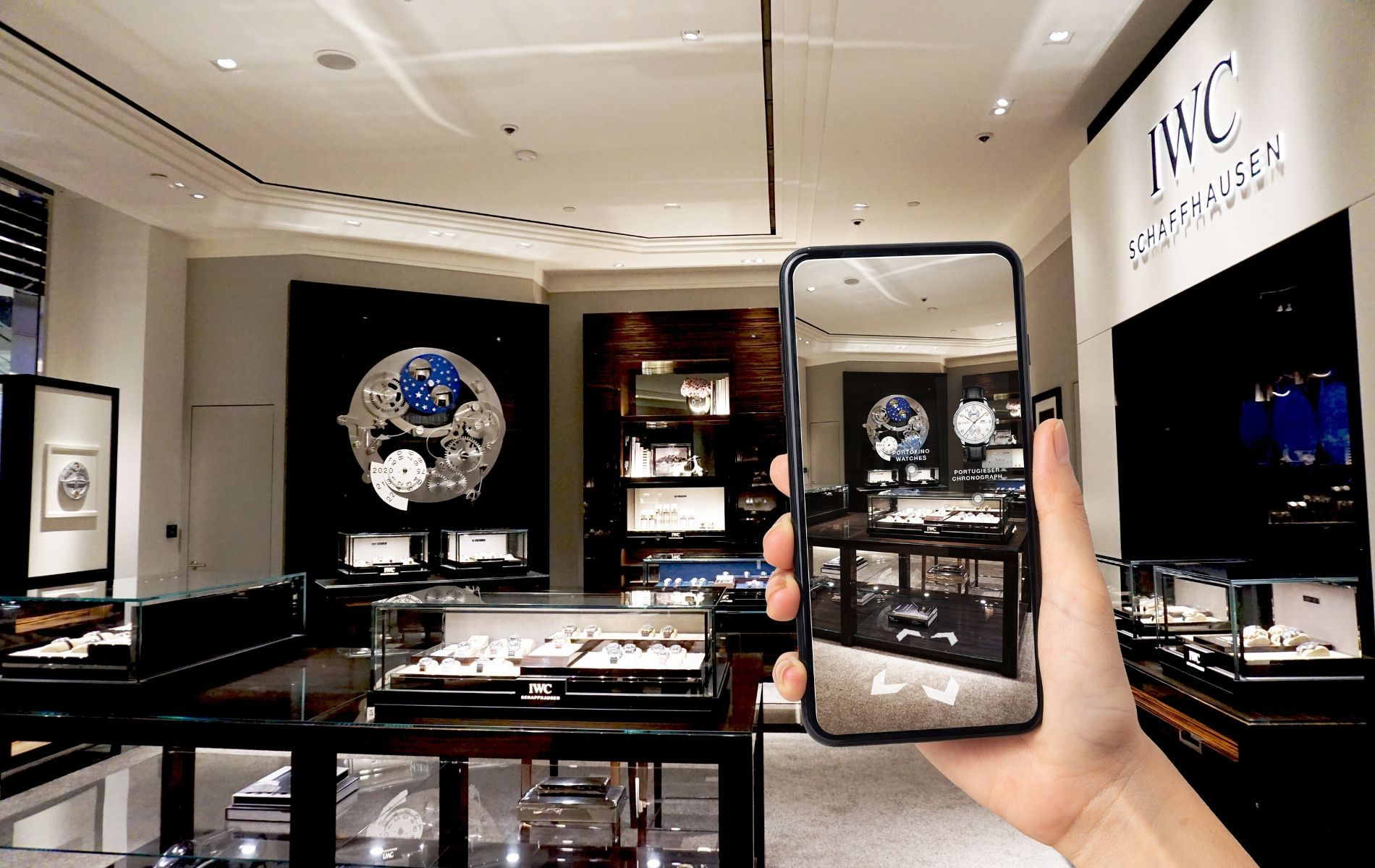#SocialDistancing: Shop At IWC Schaffhausen's Virtual Reality Boutique