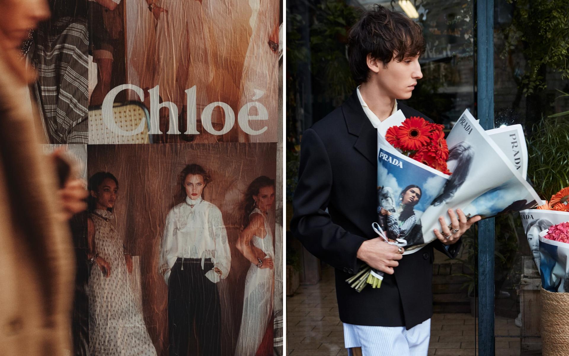 Photo: Chloé and Prada