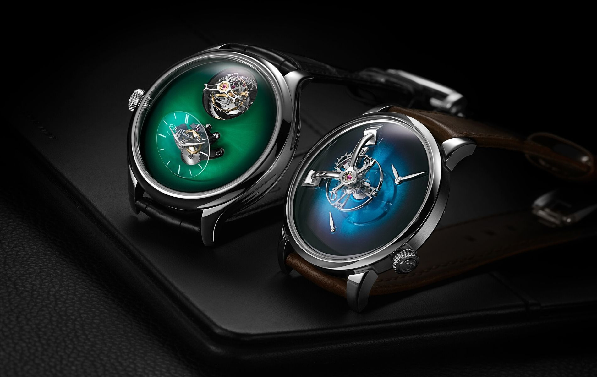 MB&F x H. Moser: United In A Brilliant Show Of Swiss Watchmaking