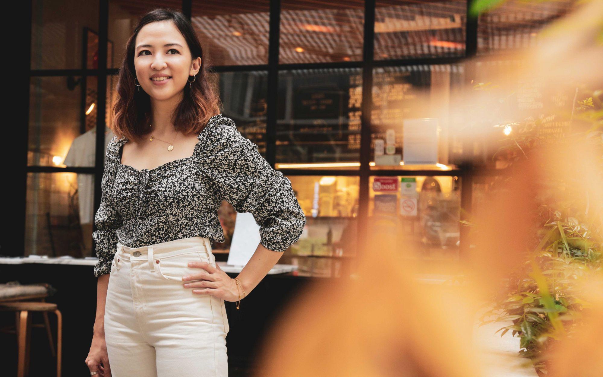 Jaslyn Rangson, founder of Jaslyn Cakes & Dew Bangsar. Photo: Khairul Imran / Tatler Malaysia
