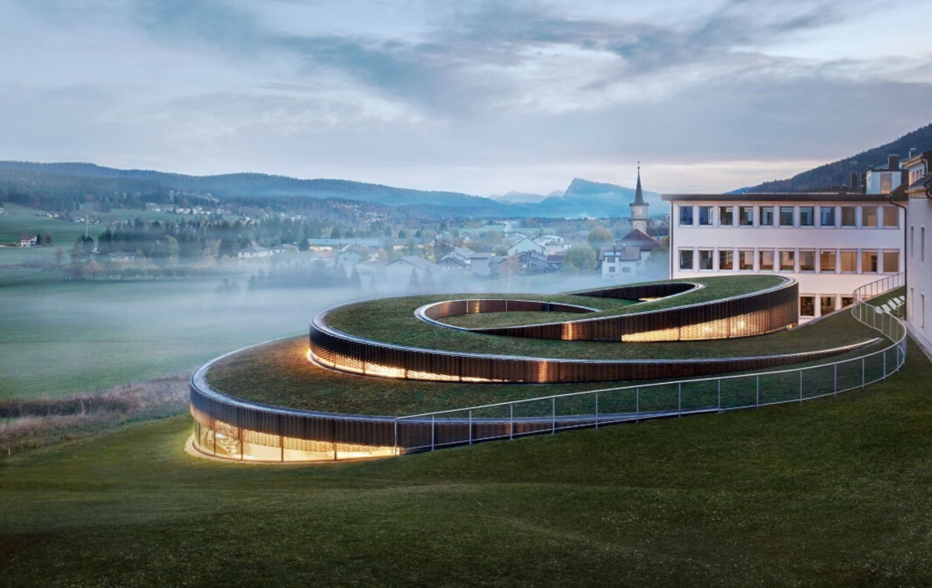The New Audemars Piguet Museum Is A Spiral-Shaped Architectural Marvel