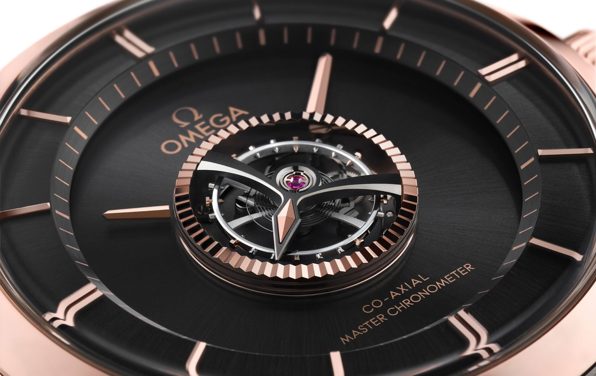 Omega Introduces A Manual Master Chronometer Watch With A Tourbillon