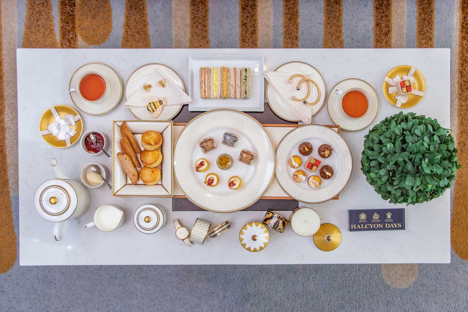 Why You'll Love This Halcyon Days-Inspired British Afternoon Tea
